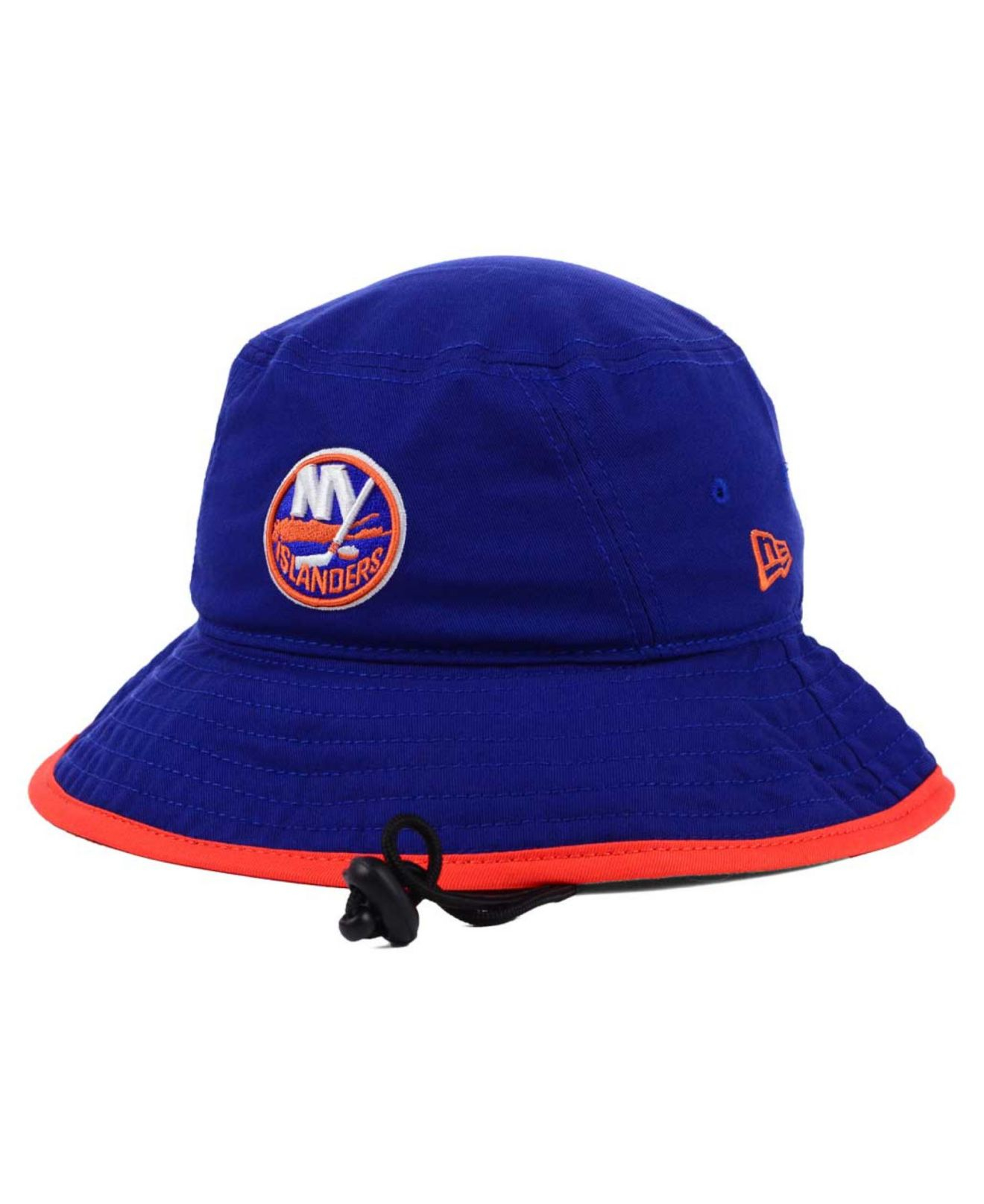 low priced 7c504 2024a KTZ New York Islanders Basic Tipped Bucket Hat in Blue for Men - Lyst