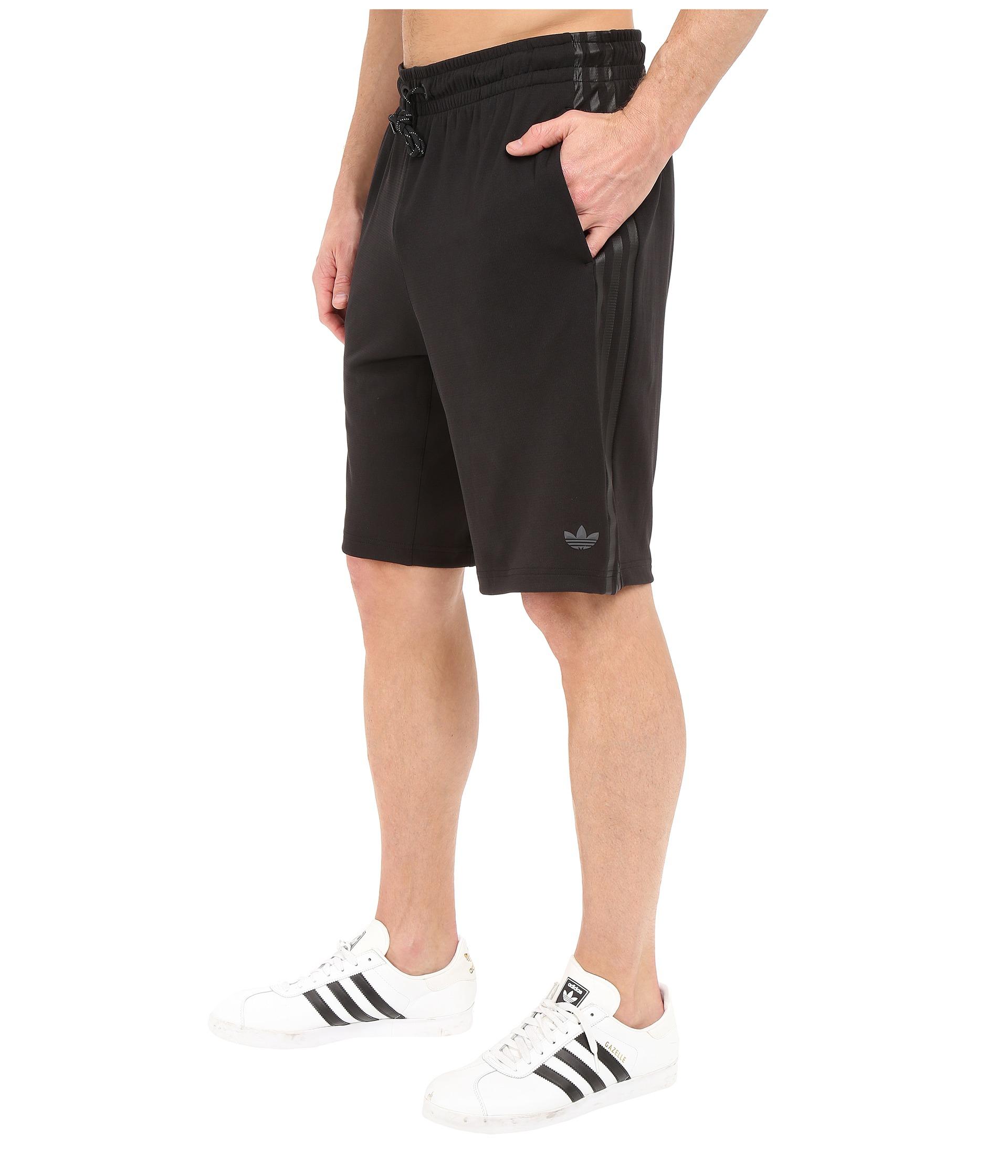 For Sport Men Black Adidas Shorts Luxe Originals 3 Stripes fg6b7YyvI