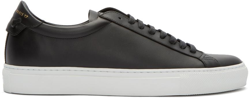 buy \u003e givenchy women's black sneakers