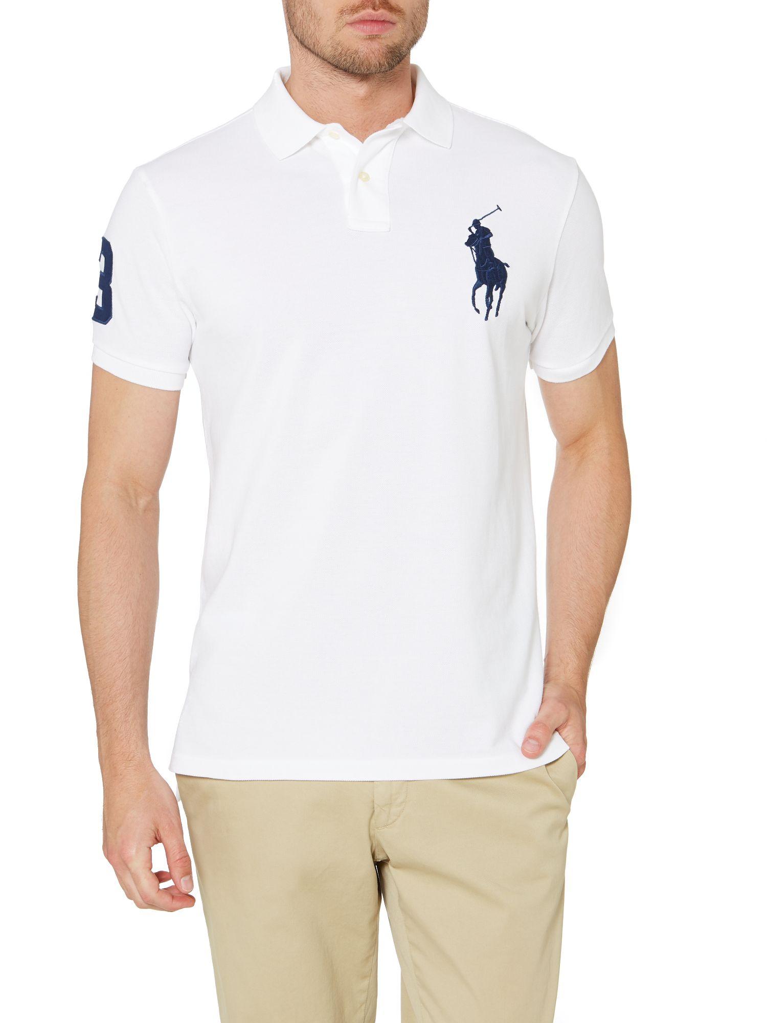Polo Ralph Lauren Custom Fit Short Sleeve Big Pony Polo