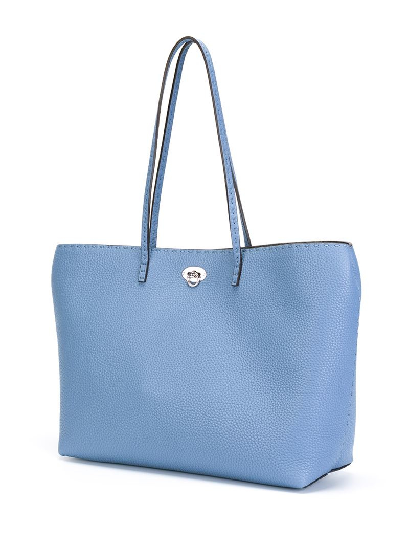 Fendi 'carla Selleria' Tote in Blue