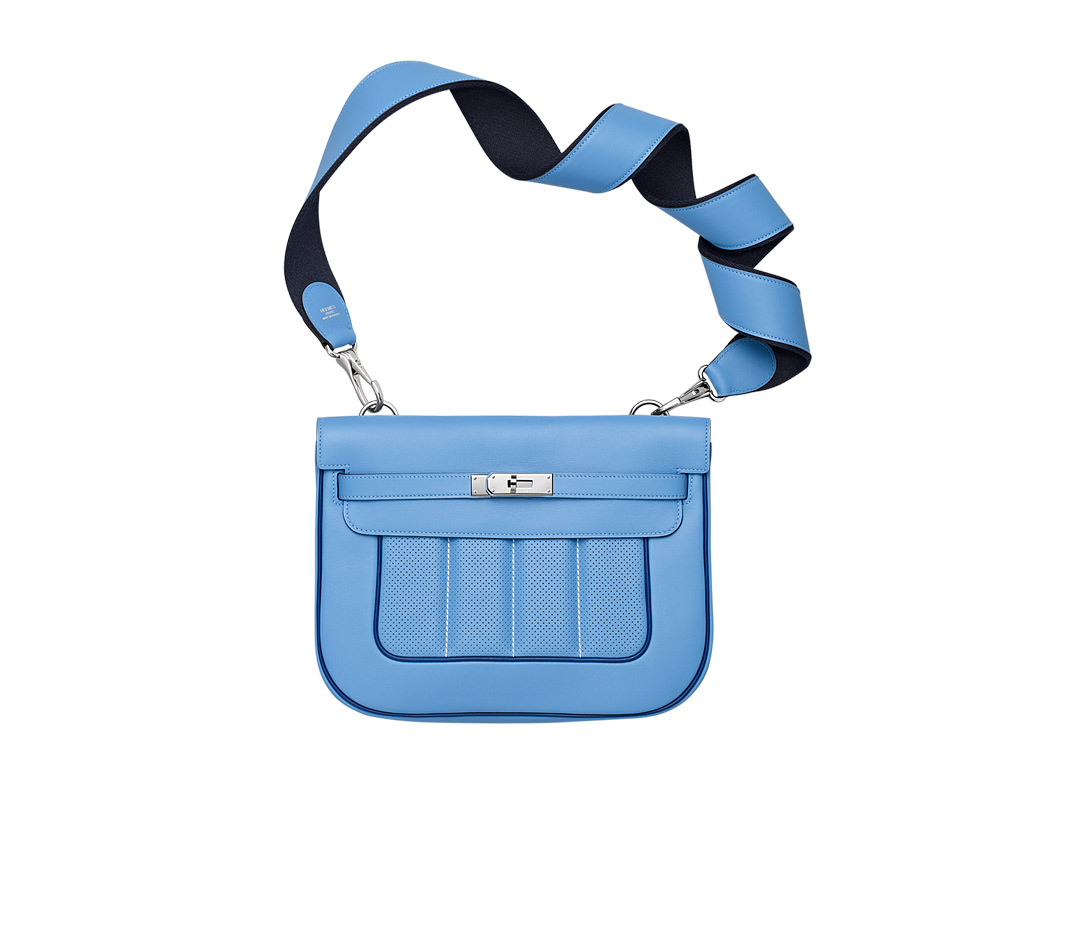 hermes inspired - Herm��s Berline 28 in Blue (paradise blue/sapphire blue) | Lyst