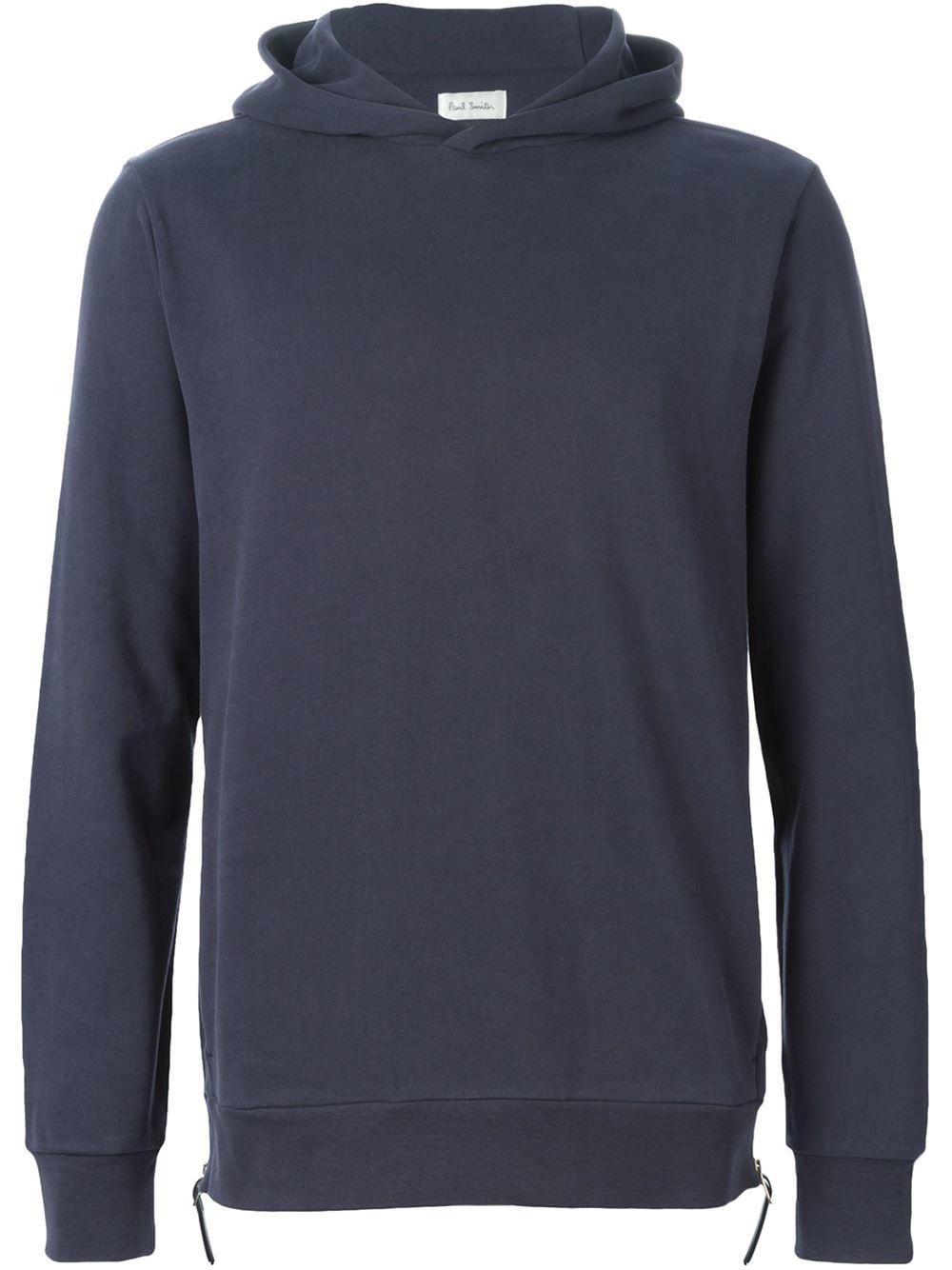 Side zip hoodies