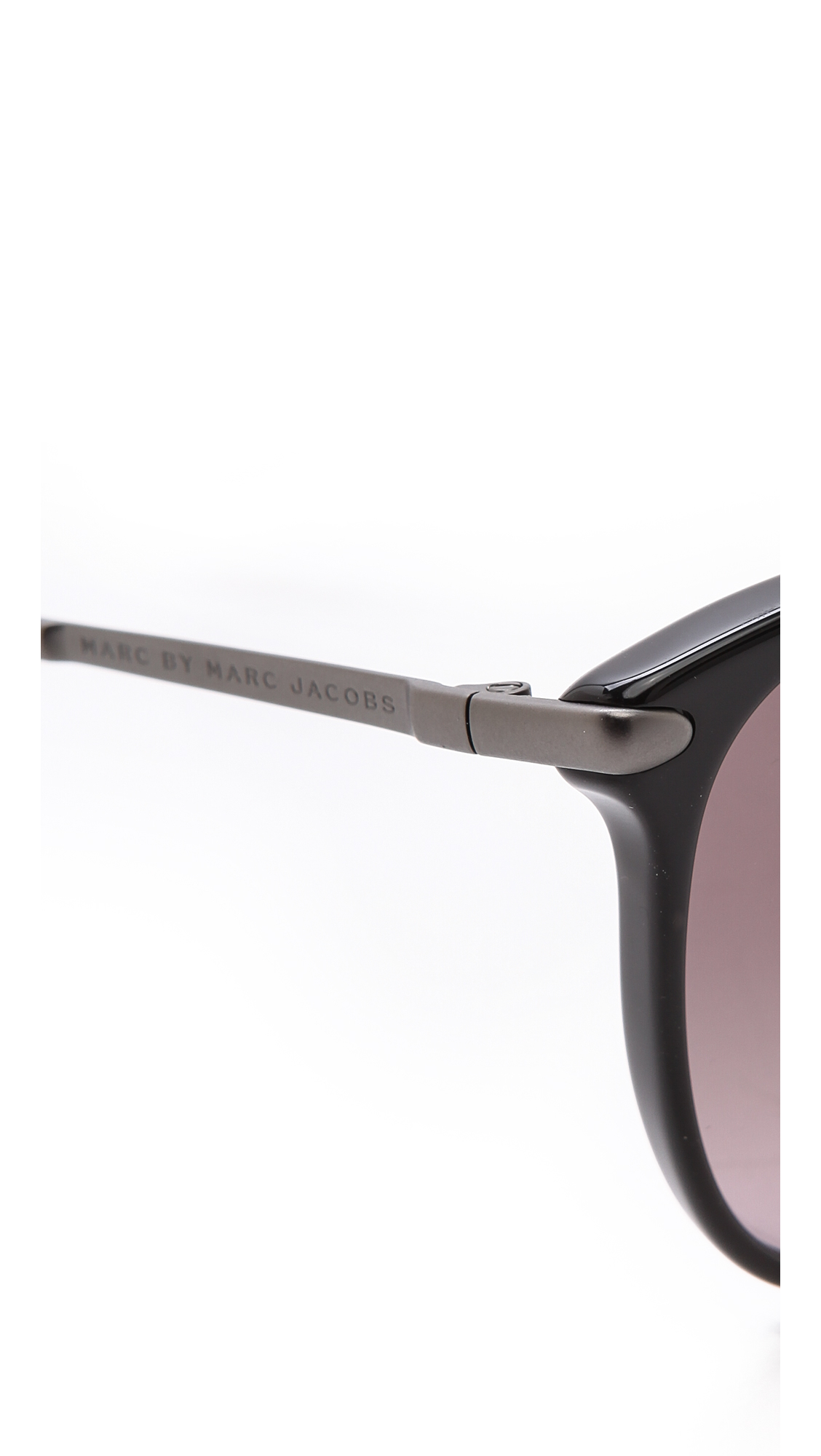 Marc By Marc Jacobs Thin Frame Sunglasses Light Bluegrey