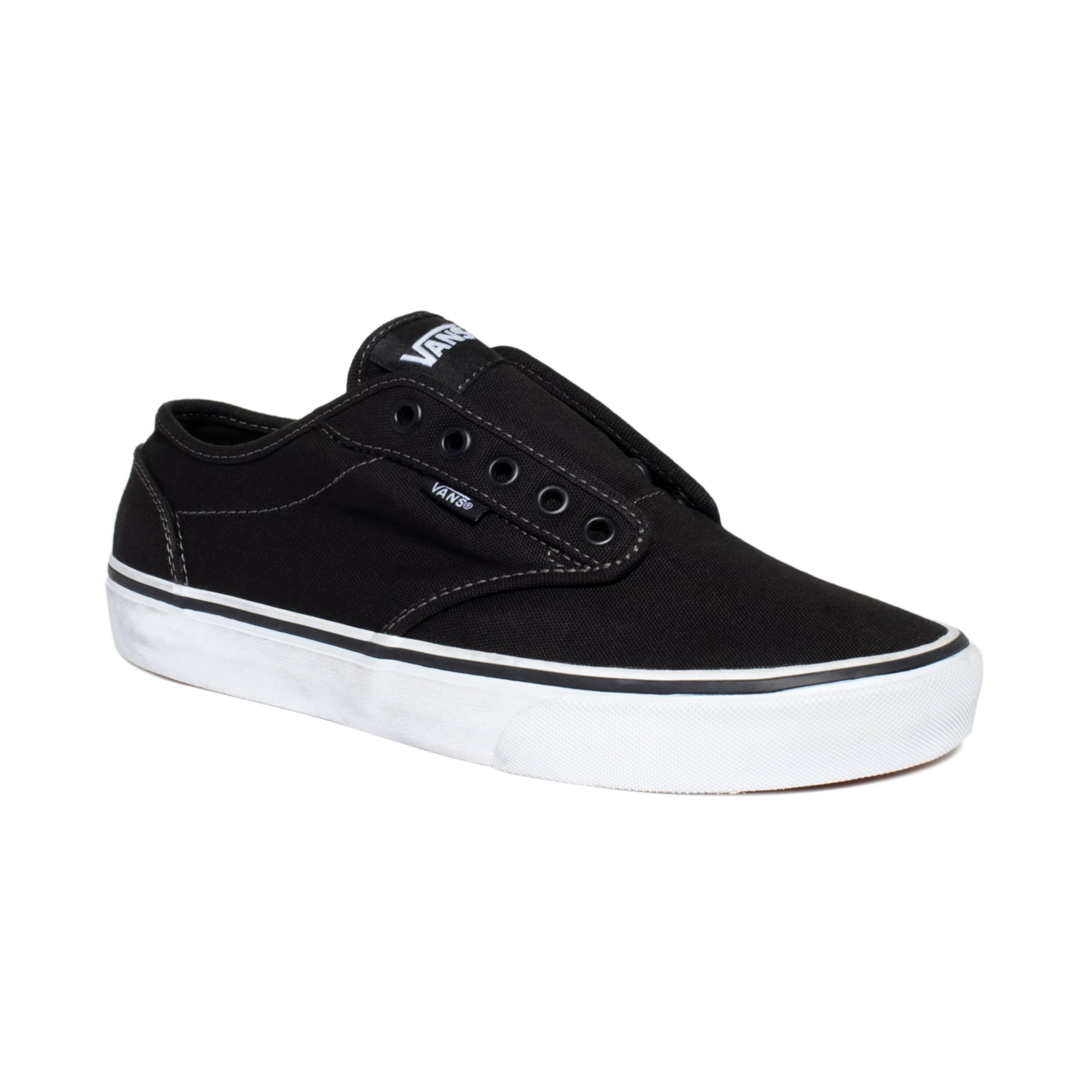 vans shoes atwood laceless sneakers