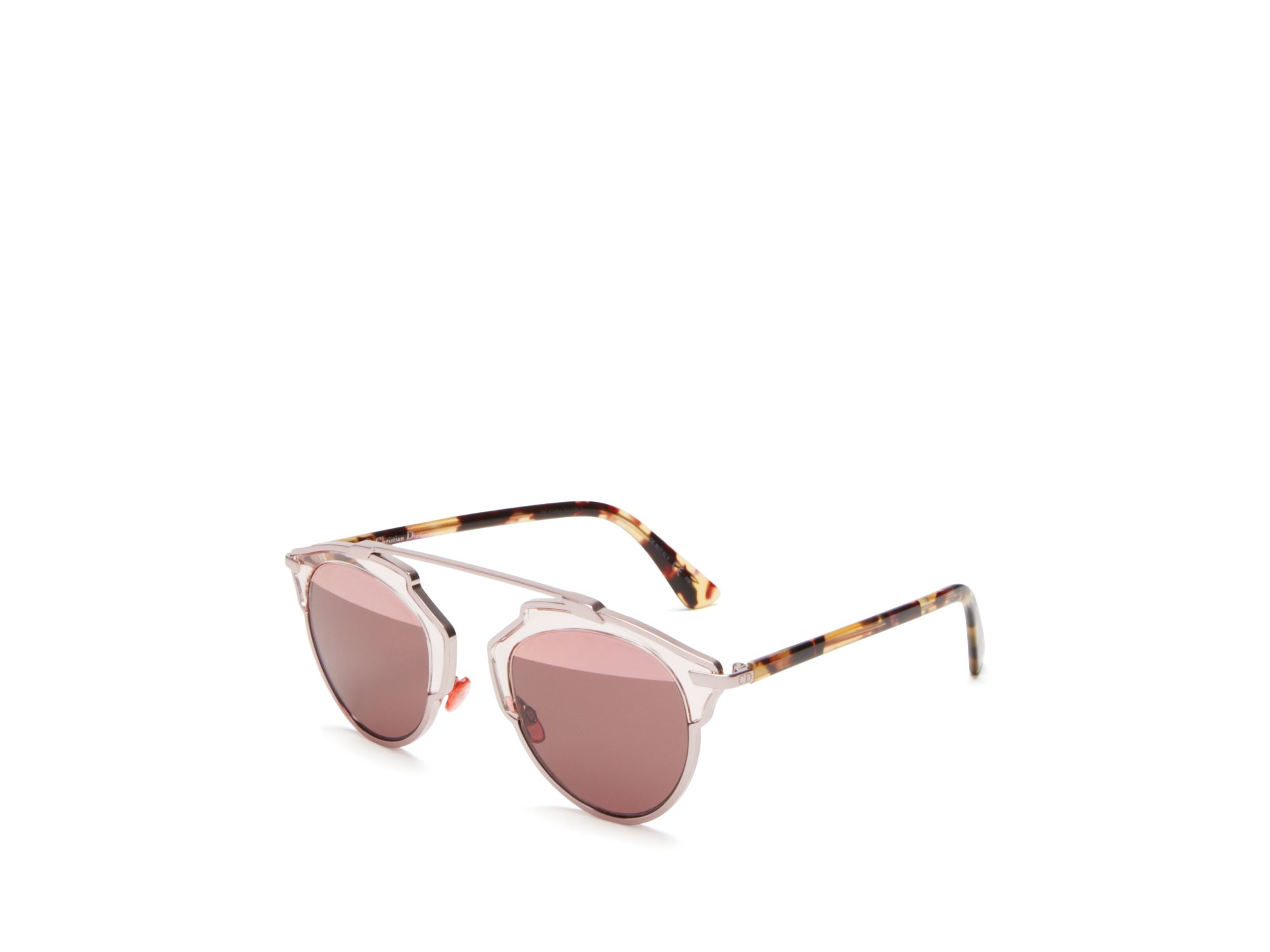 8482bd20025 Gallery. Previously sold at  Bloomingdale s · Women s Mirrored Sunglasses  Women s Dior So Real ...