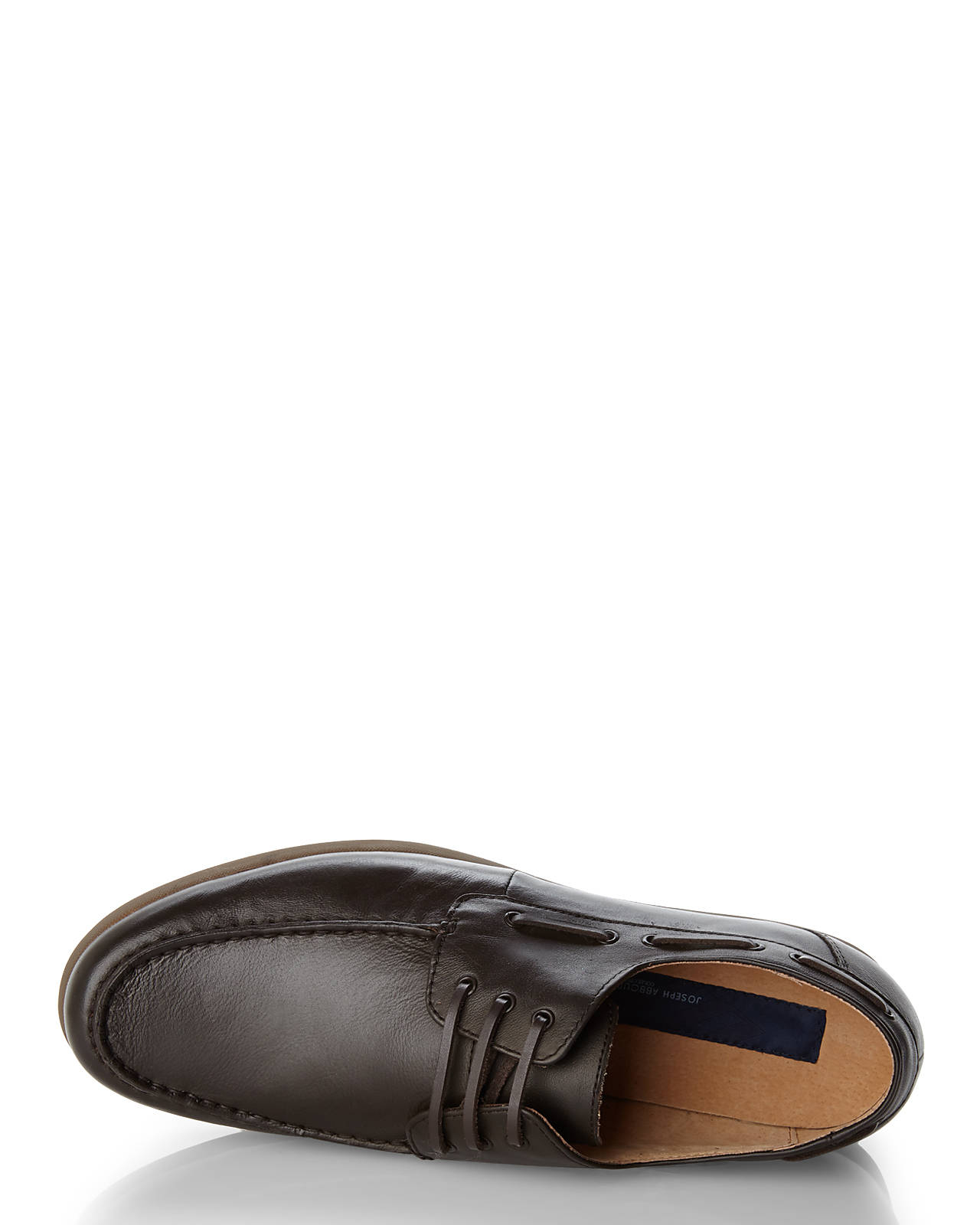 joseph abboud brown boyd i boat shoes in brown for lyst