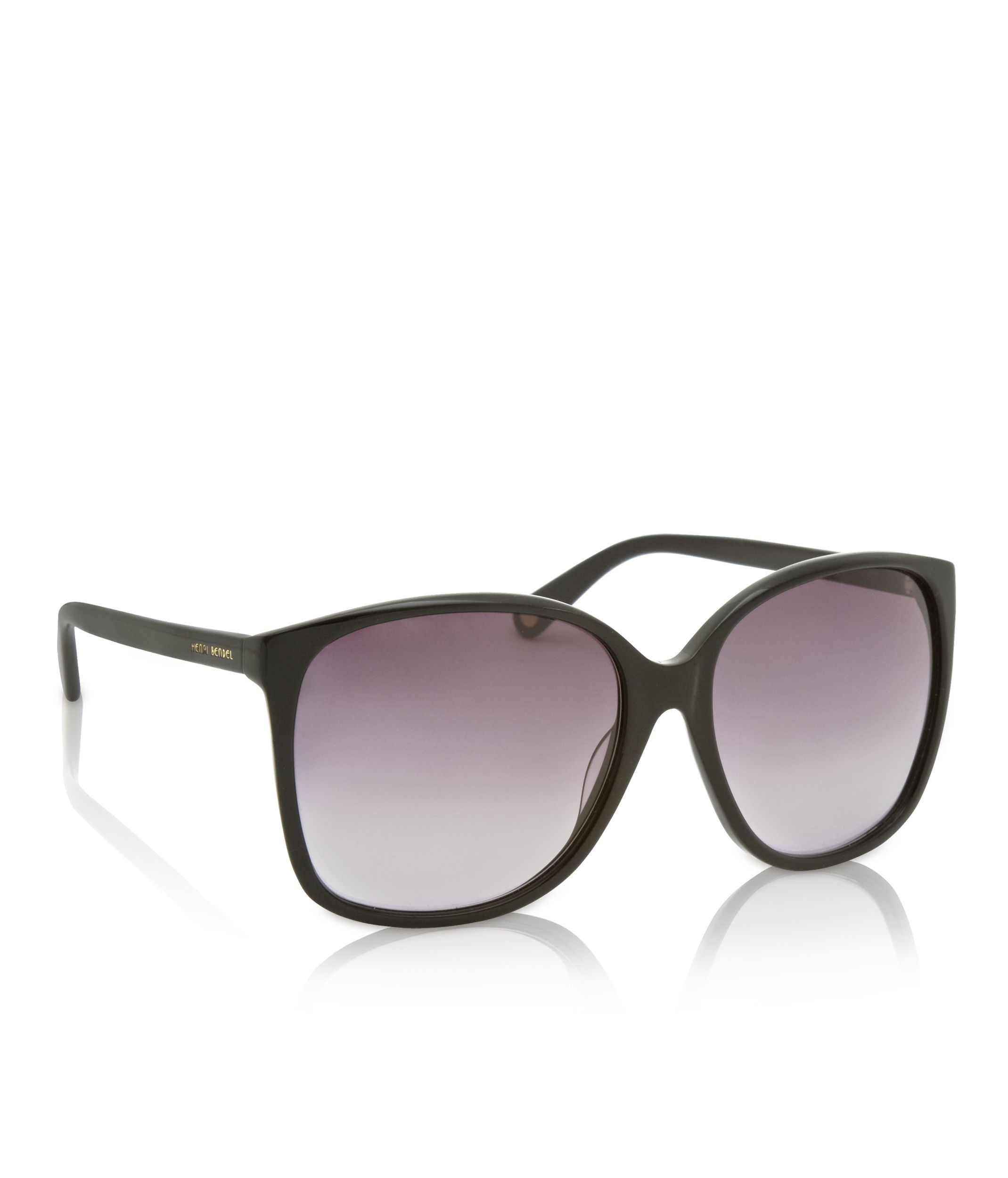 d3497d5ca48 Lyst - Henri Bendel Socialite Oversized Square Sunglasses in Black