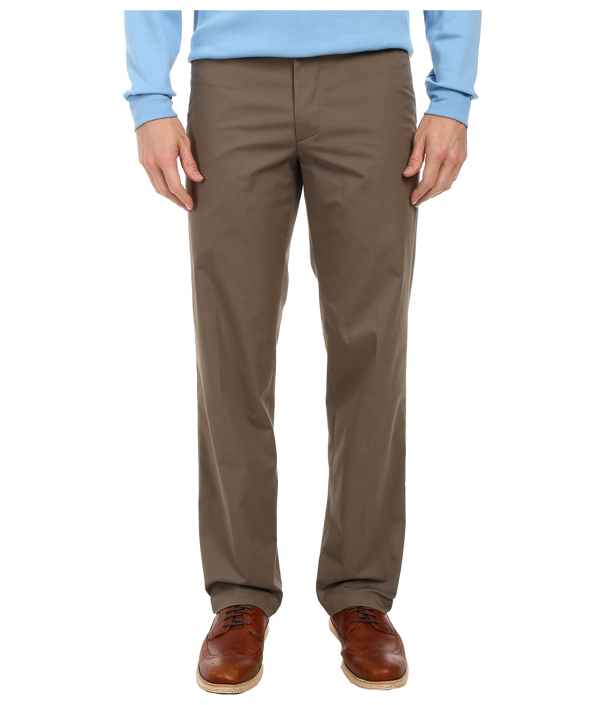 Dockers Signature On The Go Khaki Pants in Brown for Men | Lyst