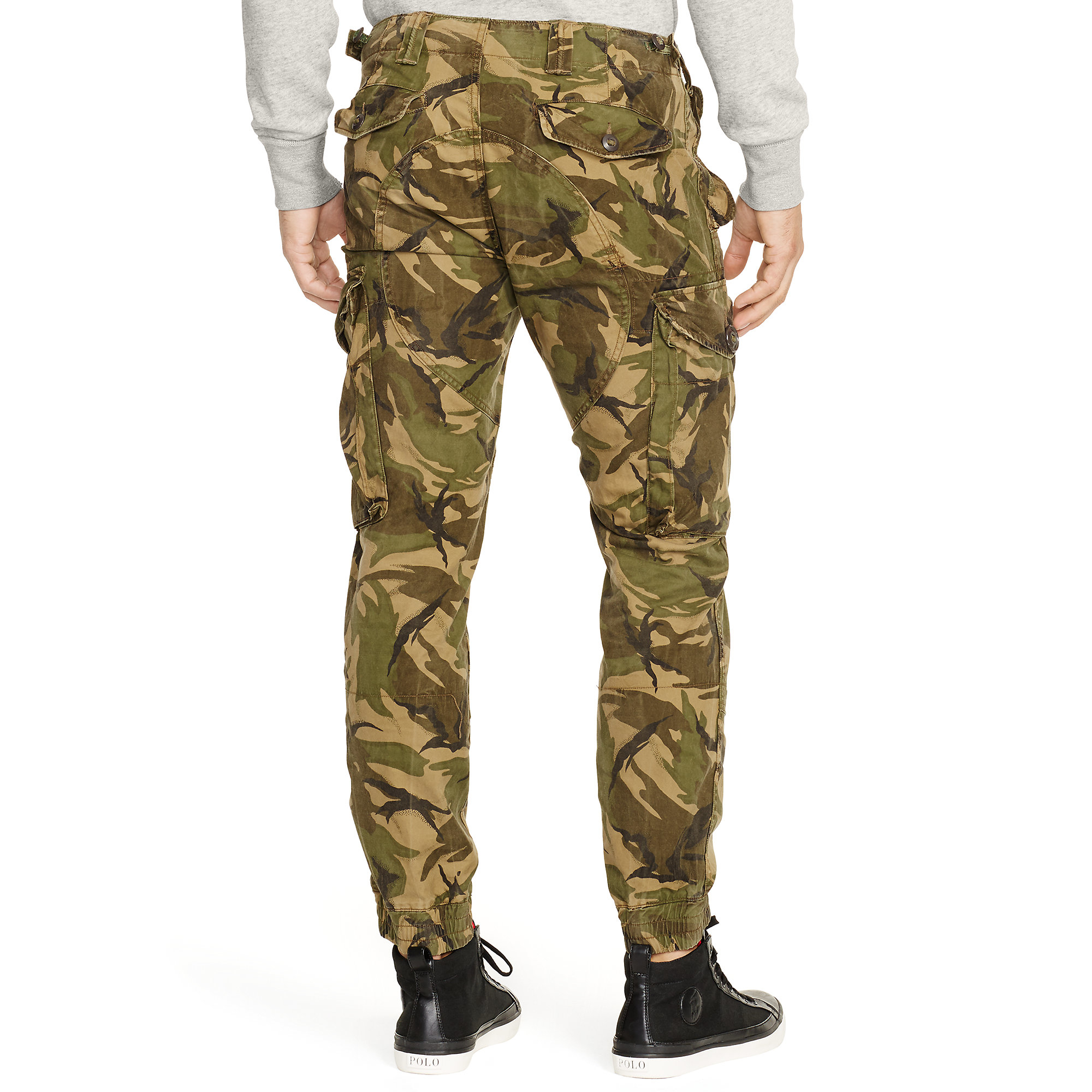 Polo ralph lauren Straight-fit Camo Cargo Pant for Men | Lyst