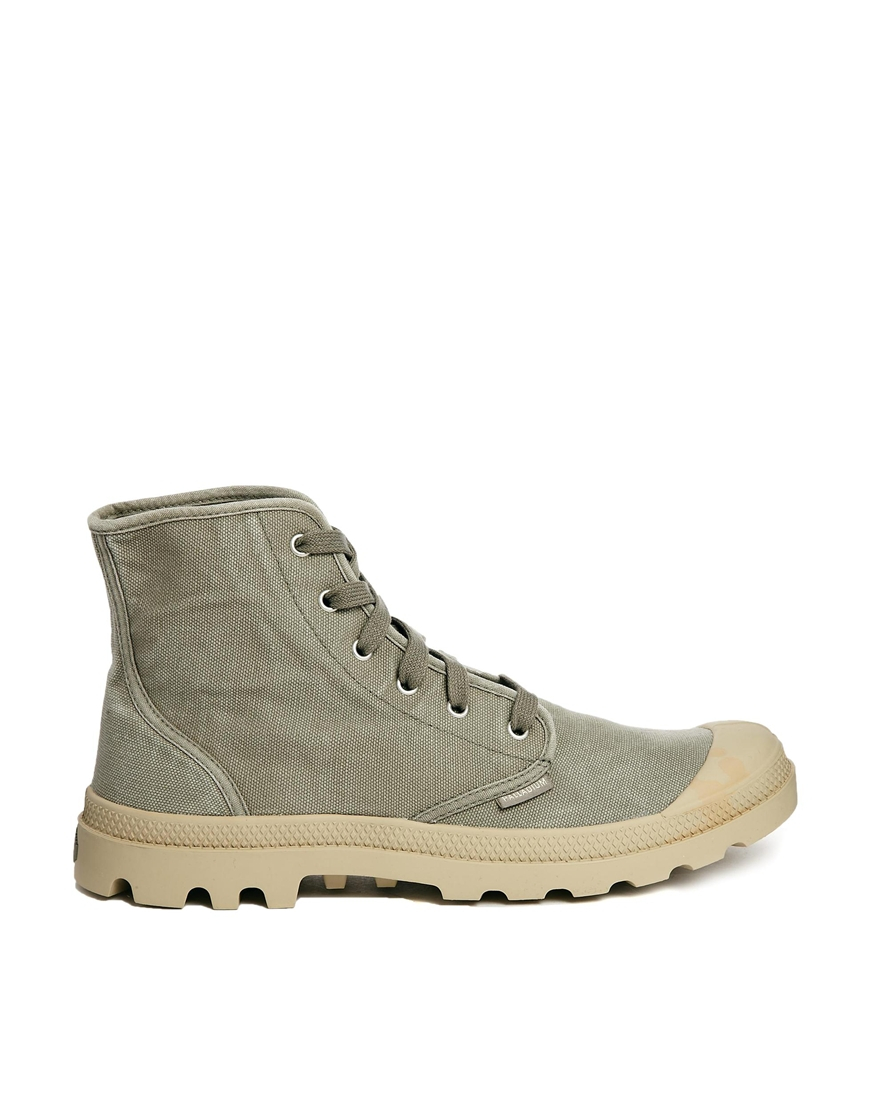 Brilliant  Footwear  Boots  PALLADIUM  PALLADIUM Pallabrouse Boot Grey