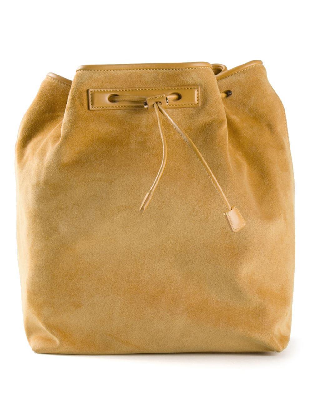 The Row Backpack 9 Bag in Yellow & Orange (Orange)