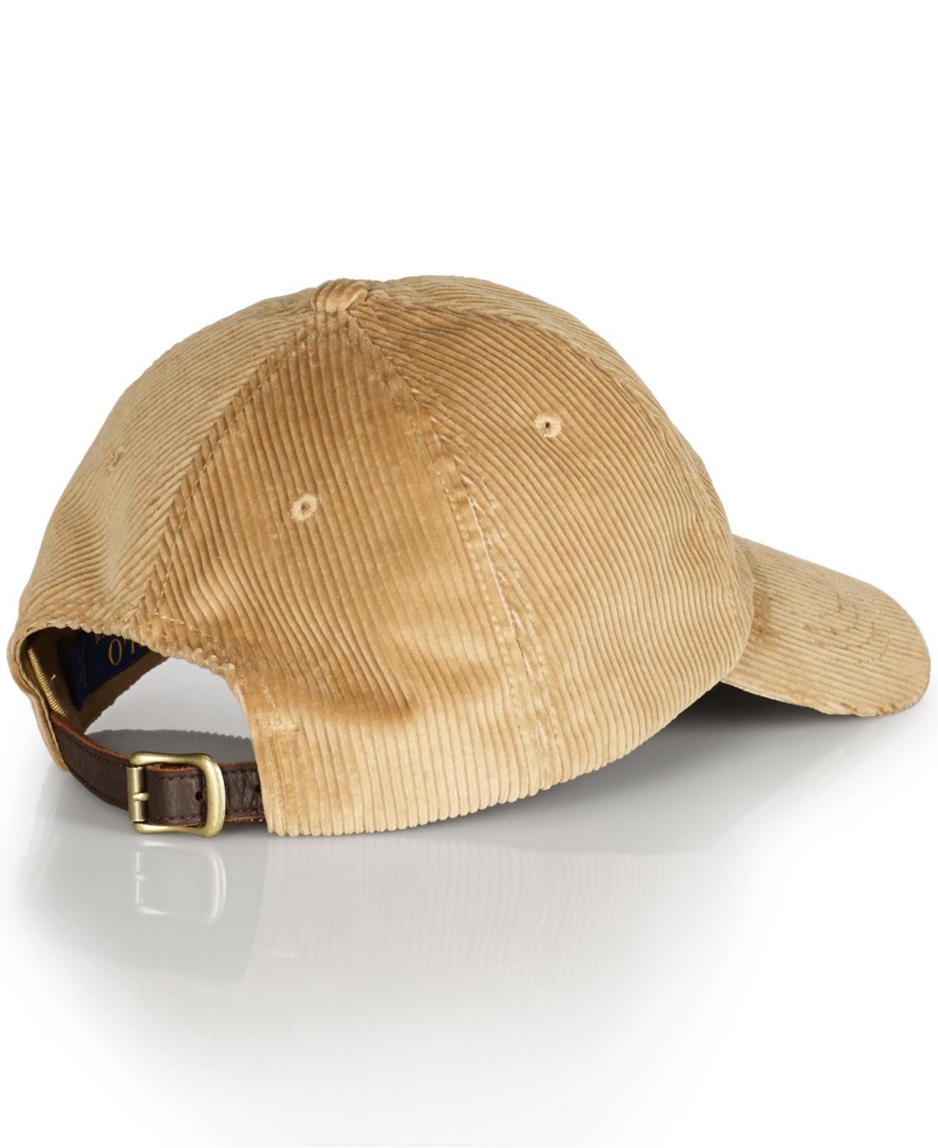 Lyst - Polo Ralph Lauren Corduroy Sports Cap in Natural for Men b323764bf63