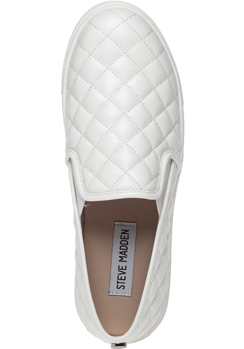 e126aa389f1 Steve Madden Ecentrcq Slip-on Sneaker White