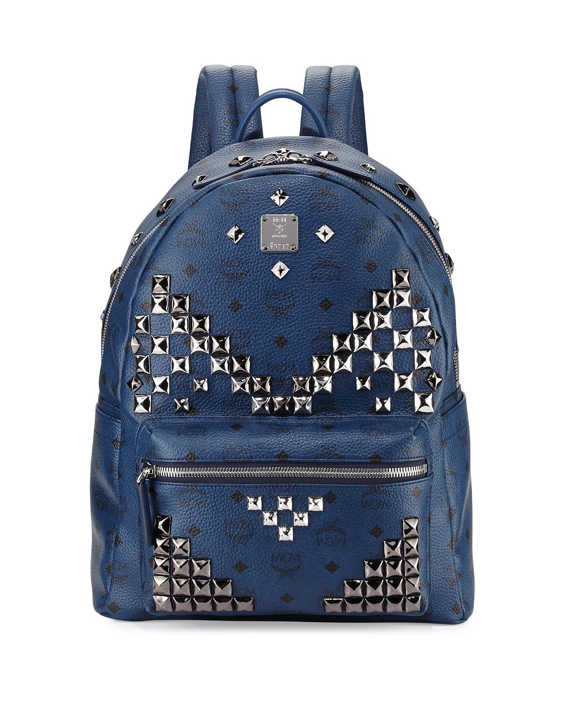 Stark M studs Medium Backpack MCM WQuNGhQx