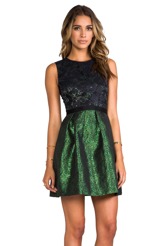 Lyst Erin Erin Fetherston Alice Dress In Green In Green