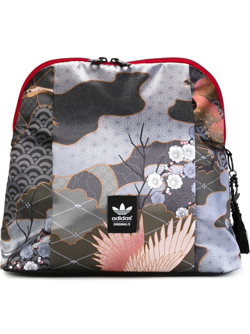 Lyst - adidas Originals   X Rita Ora  Multipatterned Backpack dee827cb49