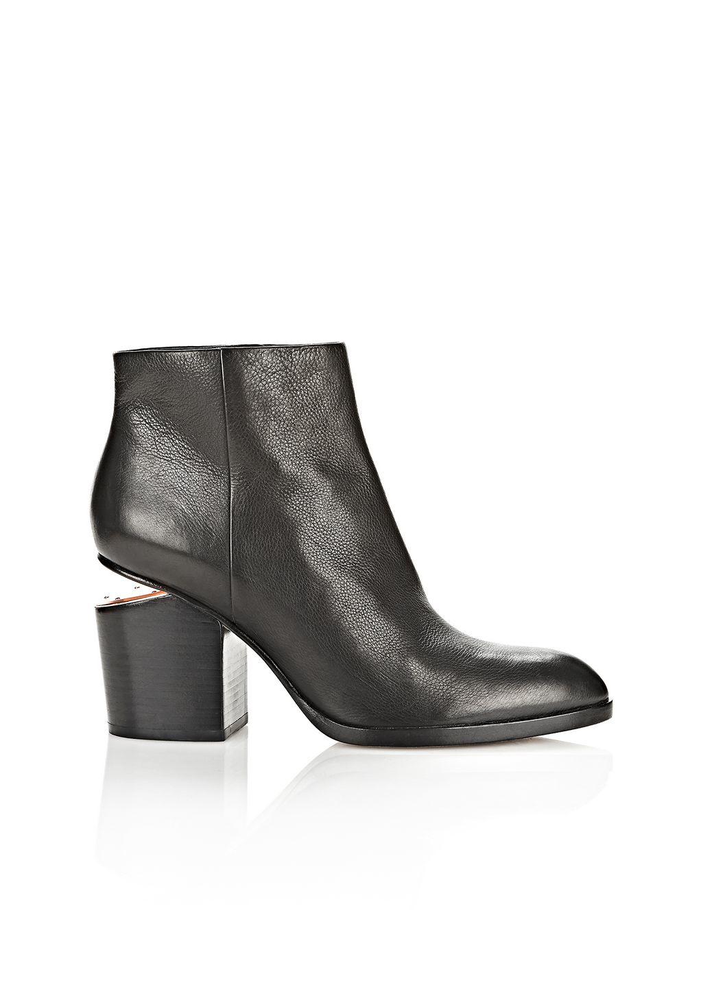 Lyst Alexander Wang Gabi Ankle Boots In Black