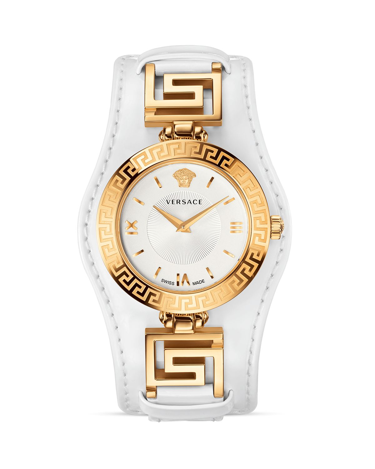 versace signature gold white 35mm in