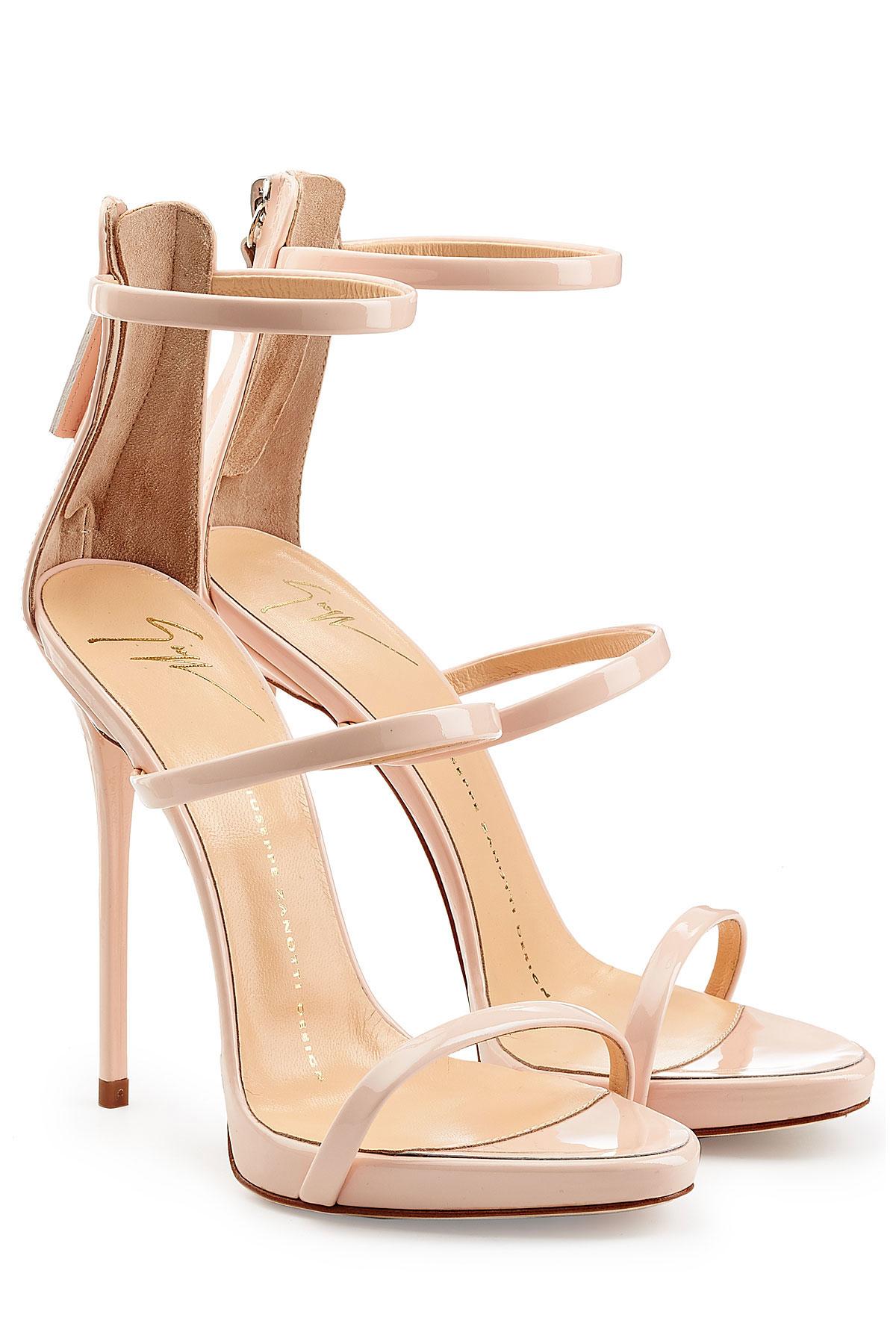 giuseppe strappy sandals Kim Kardashian Sale