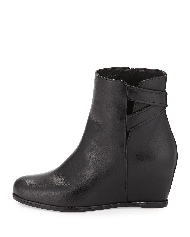 e156899e5ef Lyst - Stuart Weitzman Fitness Leather Boot in Black
