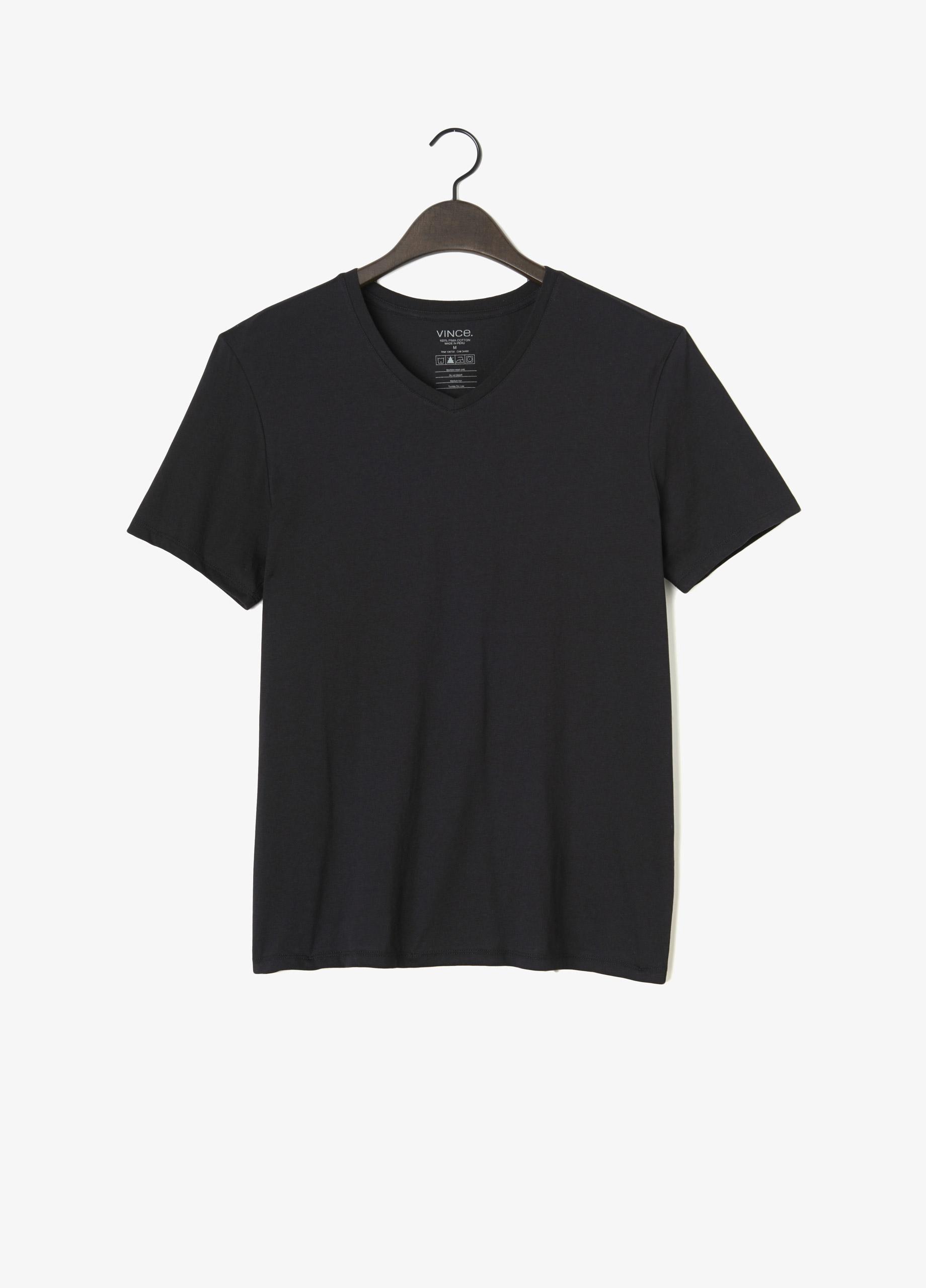 b8a936b76a7 Vince Black Favorite Jersey V-neck Tee