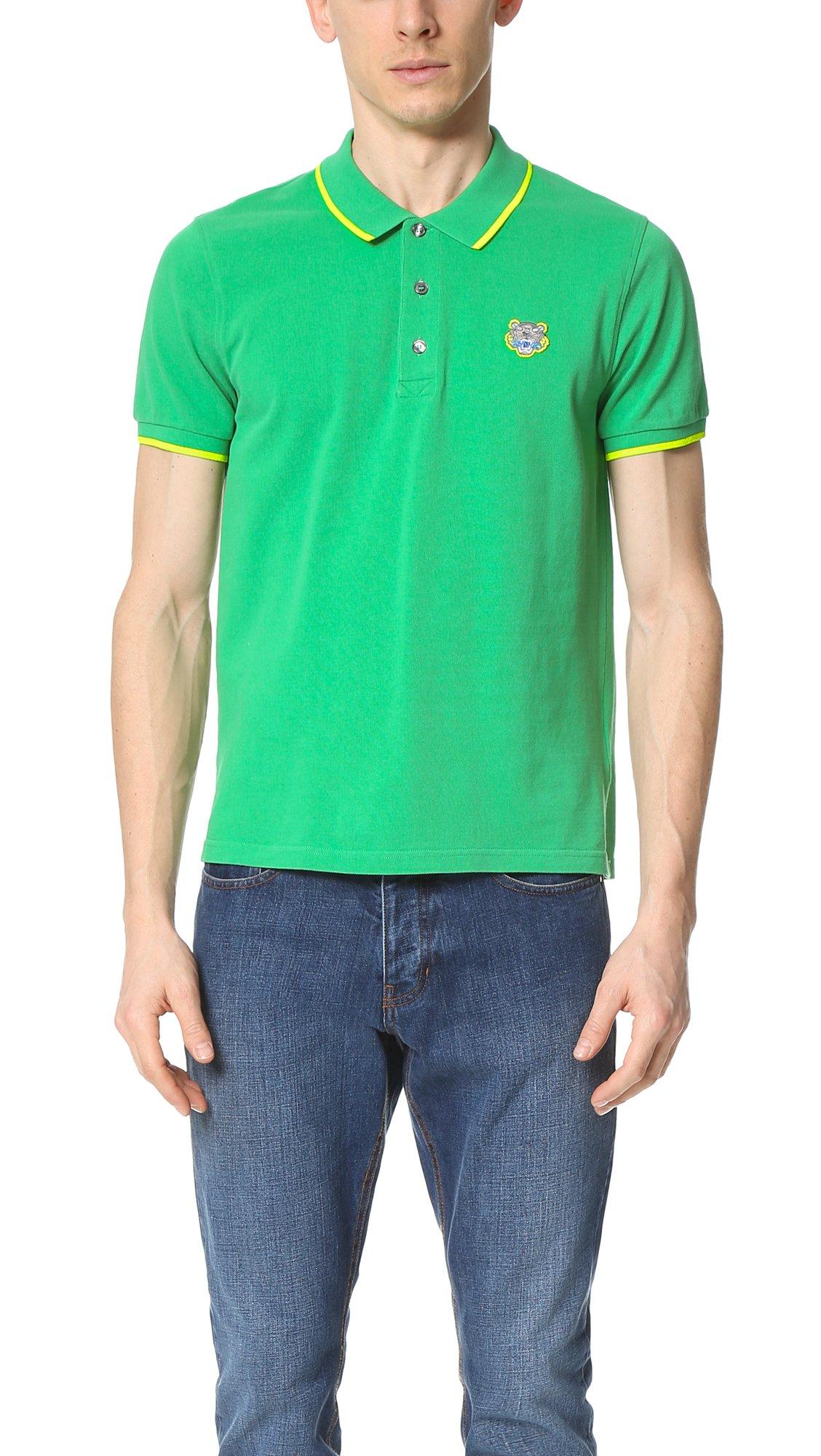 Mens Polo Shirt Lime Green Bcd Tofu House