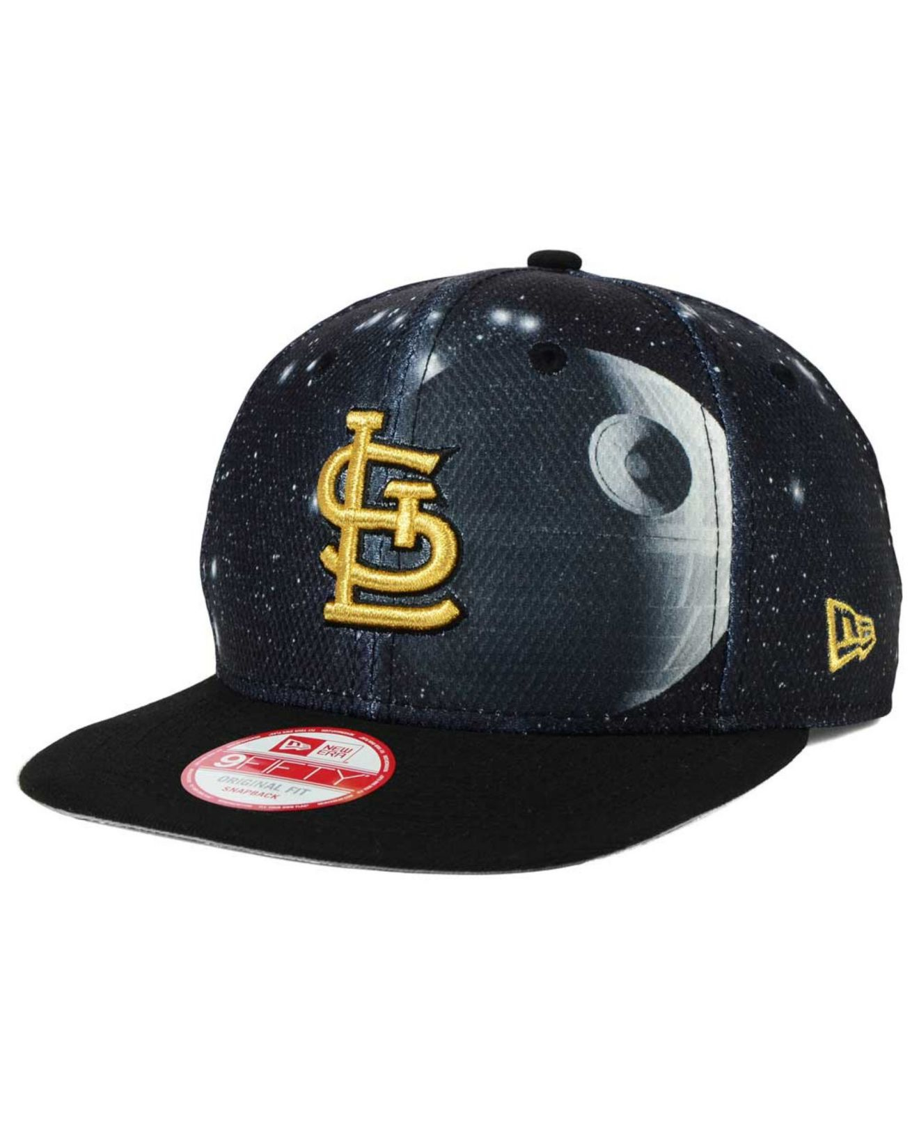 18f0a7ababa ... spain lyst ktz st. louis cardinals sw x mlb 9fifty snapback cap in  black 198ad