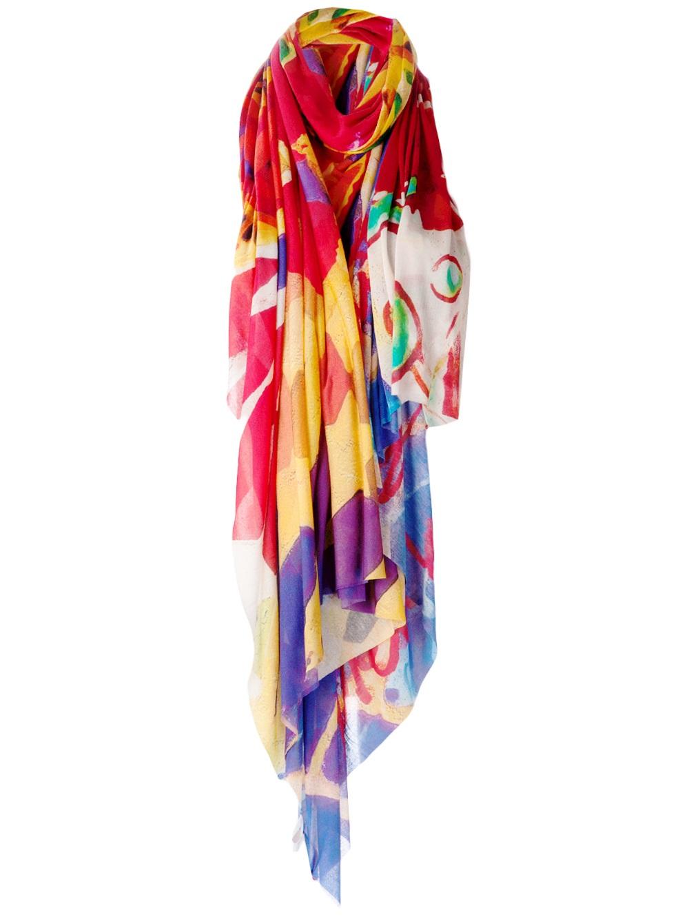 vivienne westwood mosaique orb scarf lyst