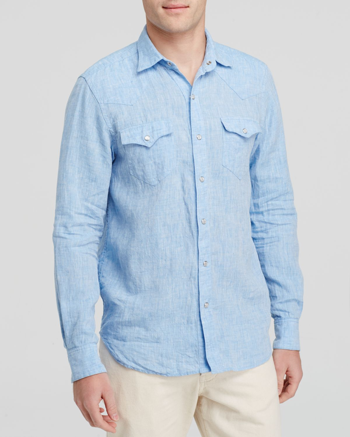 Freemans sporting club Western Button Down Shirt - Regular Fit in ...