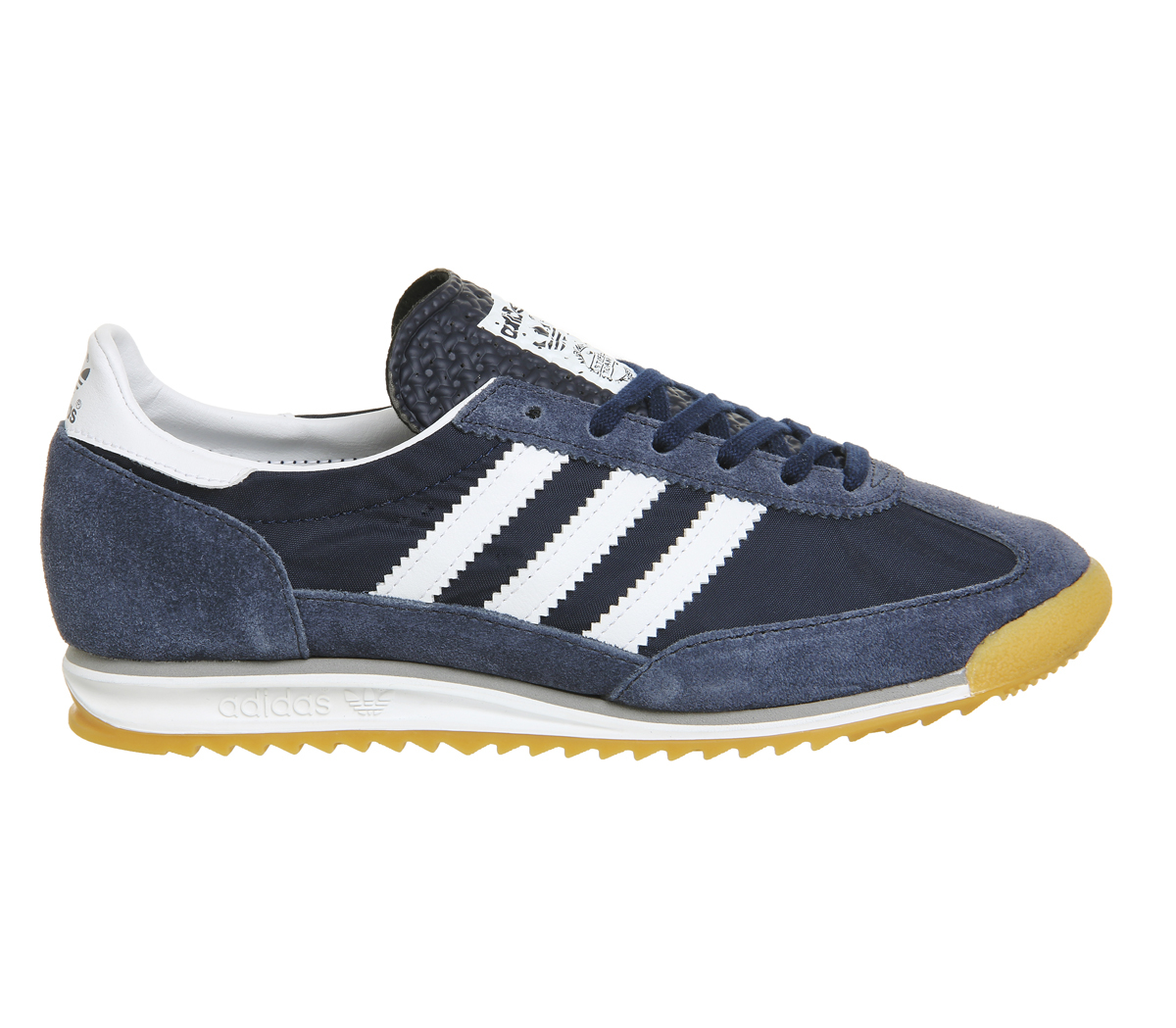 blue adidas london trainers warehouse