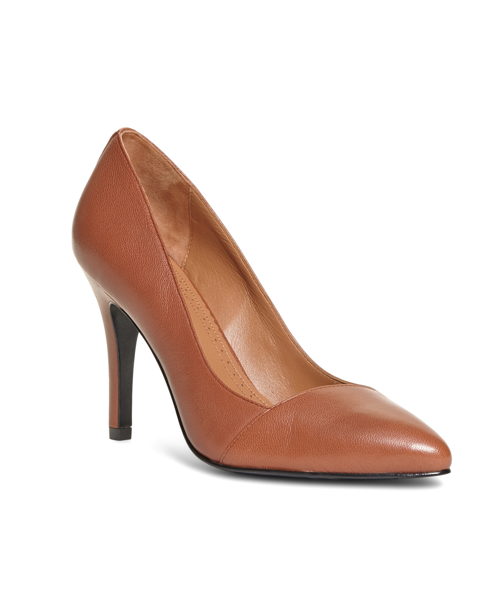 Brooks brothers Leather Pumps in Brown