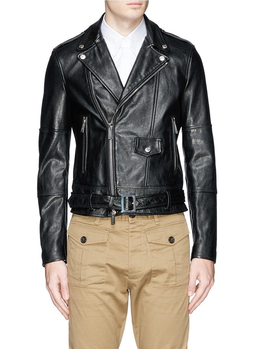 Barbour Sapper Jacket >> DSquared² 'rock Star' Leather Jacket in Black for Men - Lyst