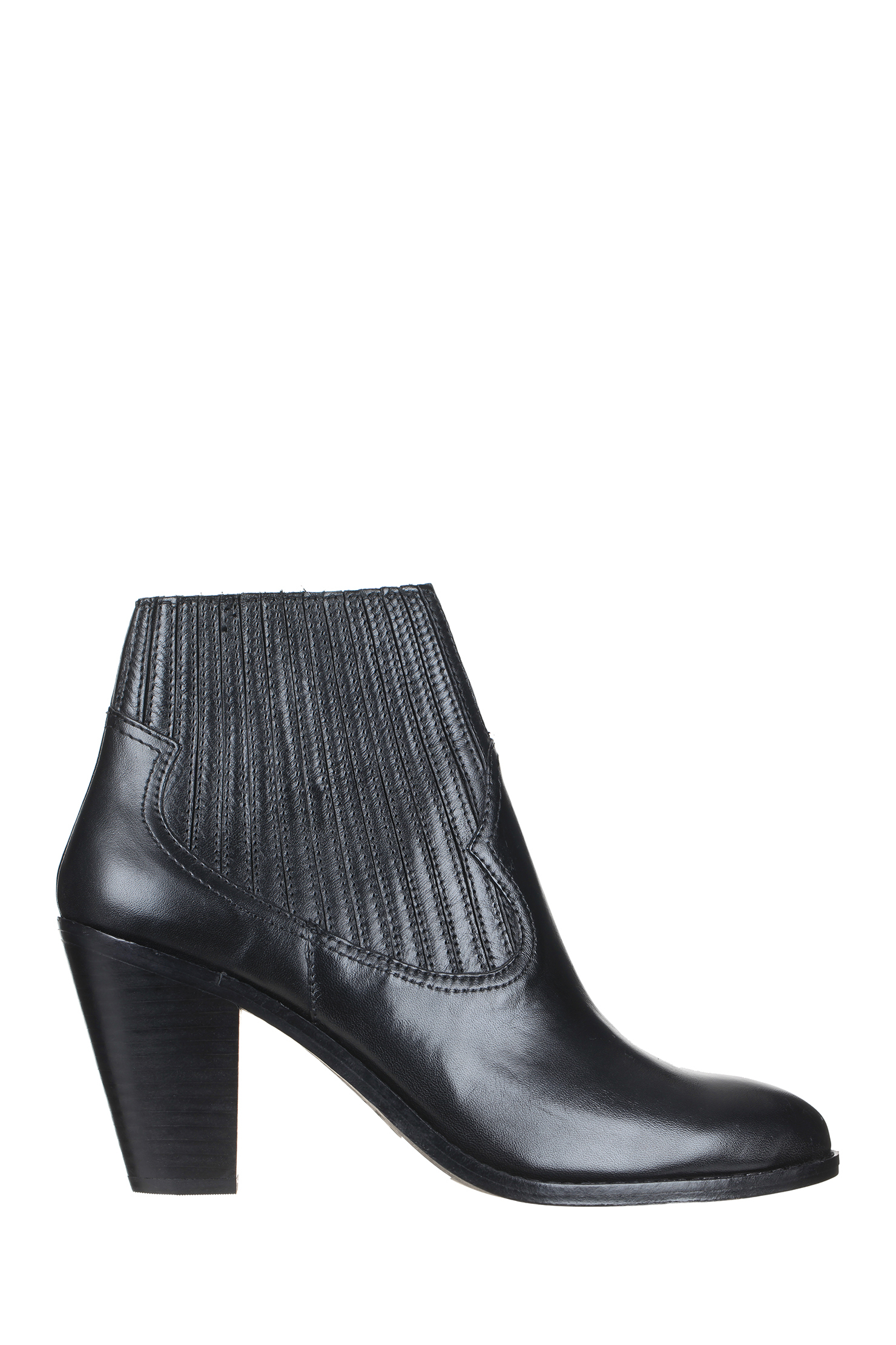 ash boots in black lyst