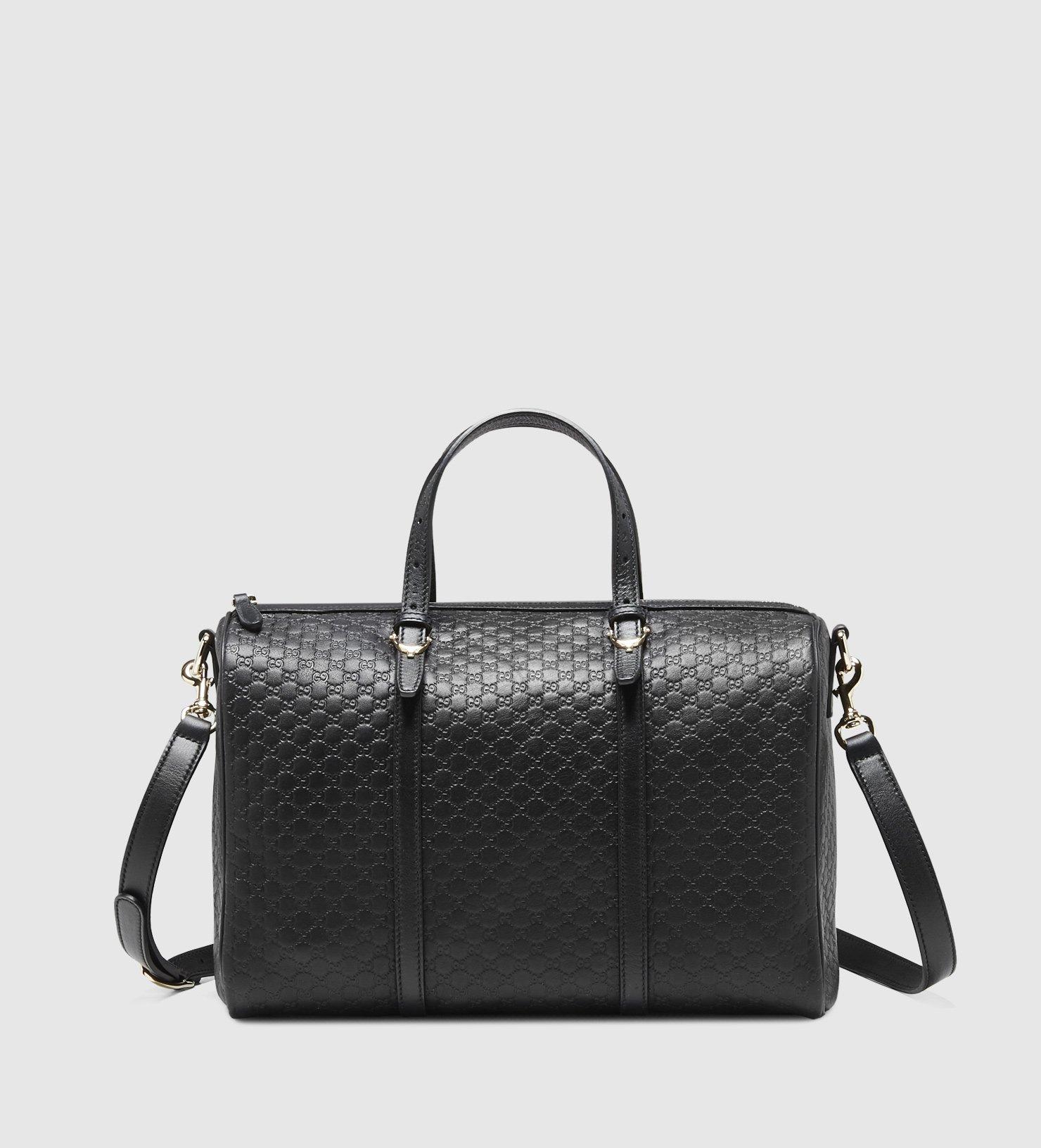 76da63d143e7 Gucci Boston Bag Black | Stanford Center for Opportunity Policy in ...