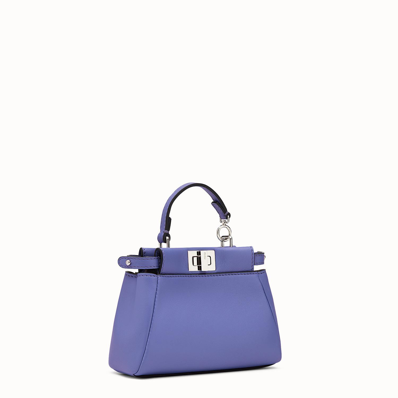 4534e65477 Fendi - Purple Micro Peekaboo Nappa Leather Bag - Lyst. View fullscreen