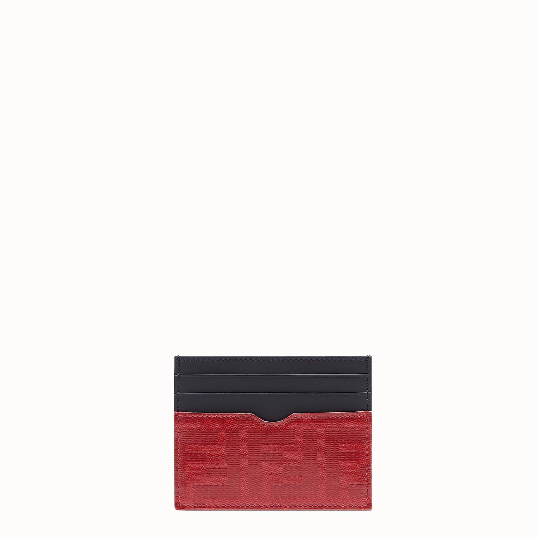 0b70b87ea41 Lyst - Fendi Ff Logo Card Holder in Black for Men