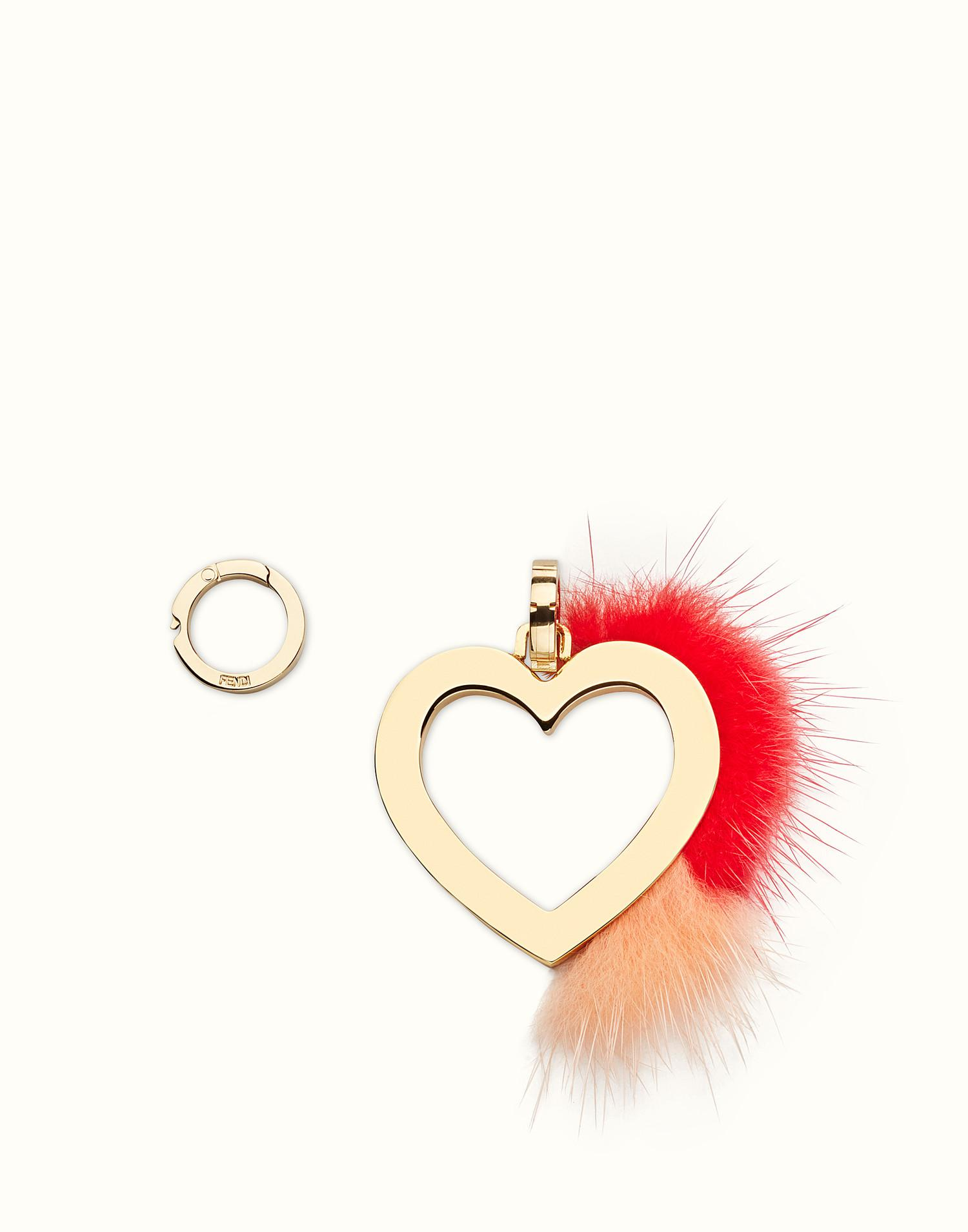 ABClick A pendant charm - Red Fendi JfWHki