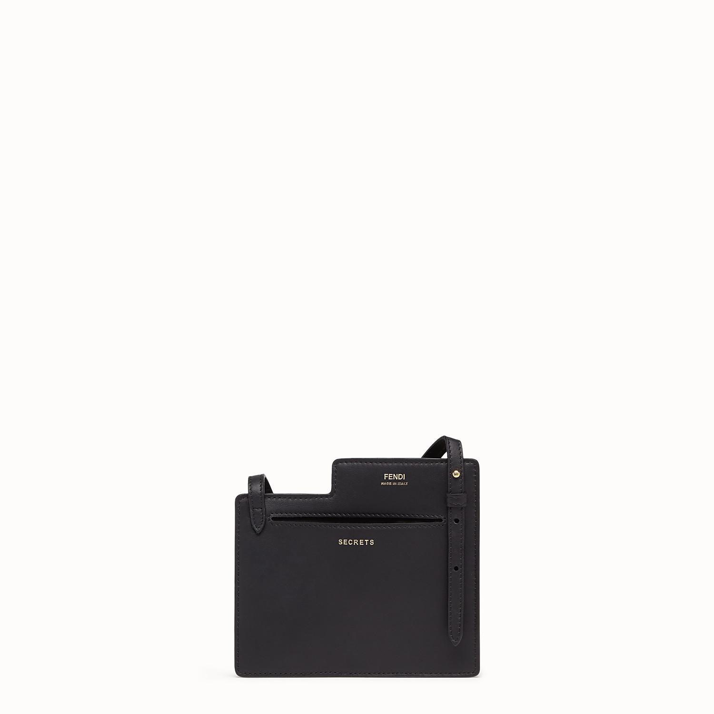 89c12999e58a Lyst - Fendi Two-pocket Mini Bag in Black