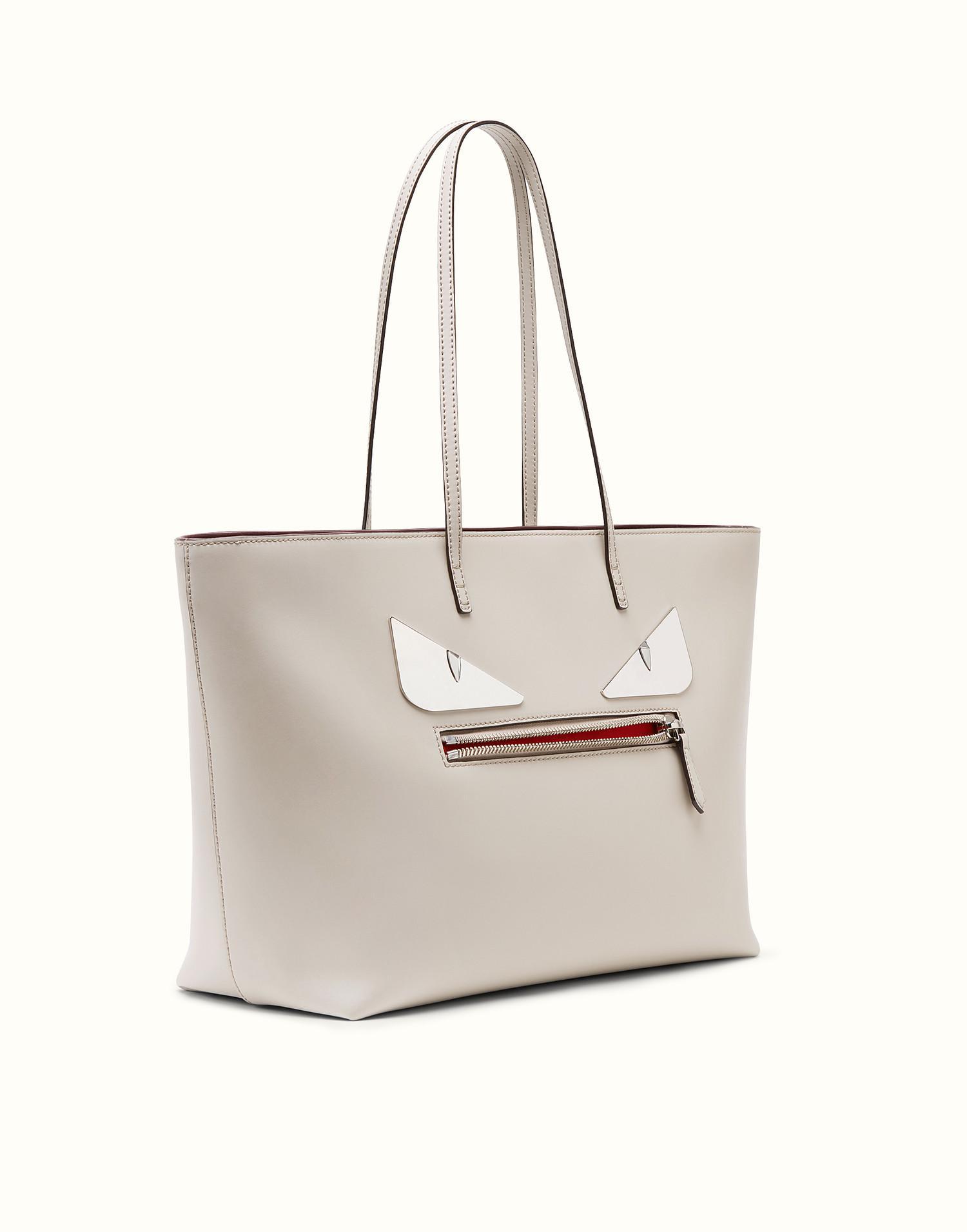 2ee02e9f54 ... new zealand fendi roll bag roll bag in grey save 11 lyst c959f c14e1 ...