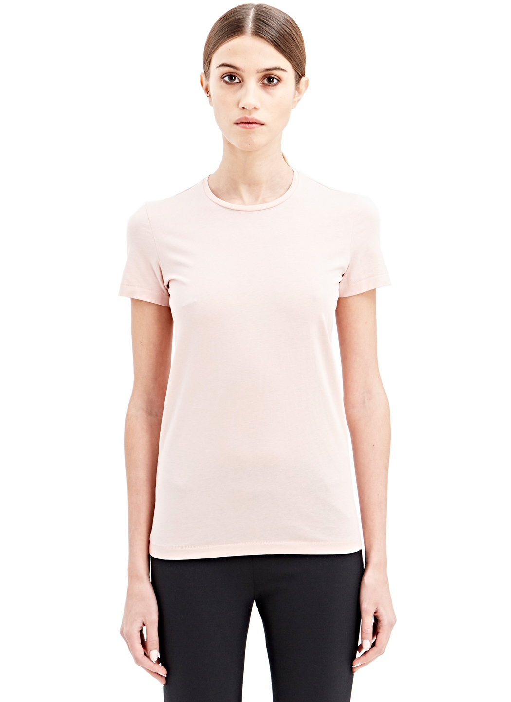 Lyst Acne Studios Bliss C Base T Shirt In Pink