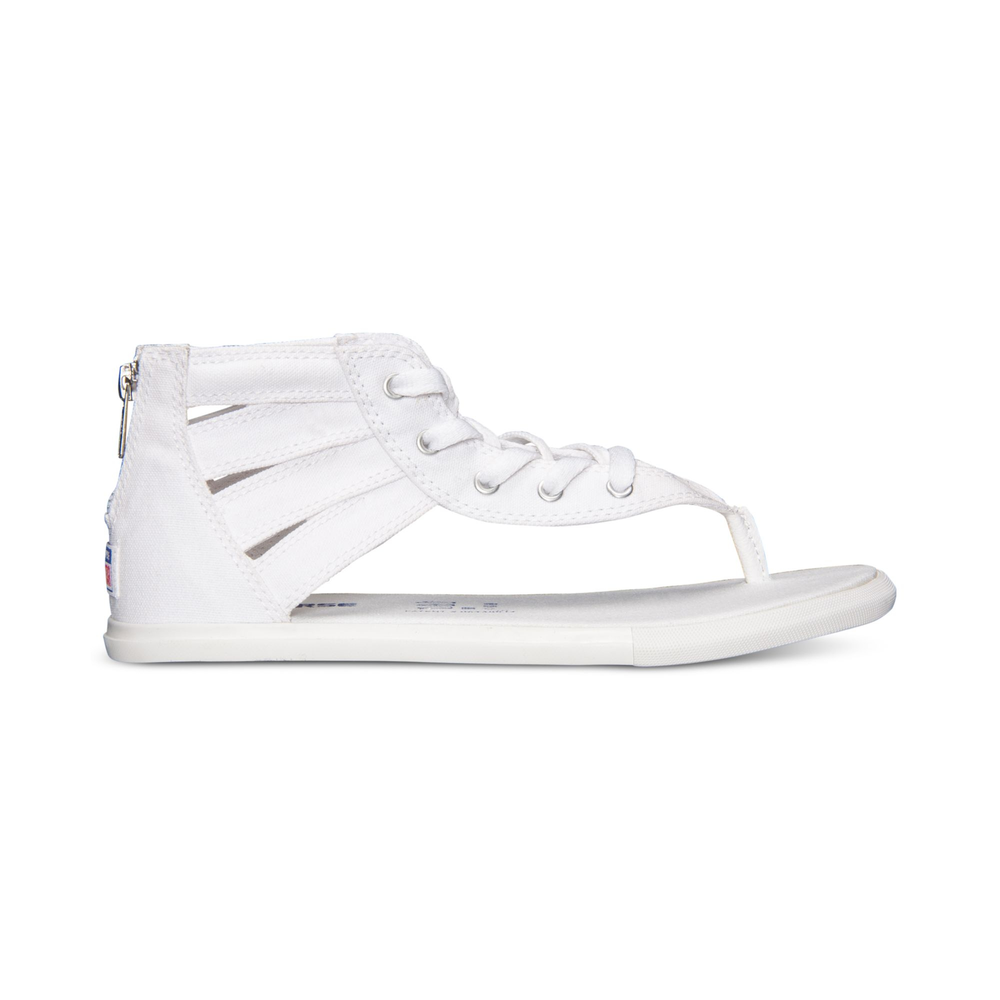 525bdefe300 Lyst - Converse Women s Chuck Taylor Gladiator Thong Sandals From ...