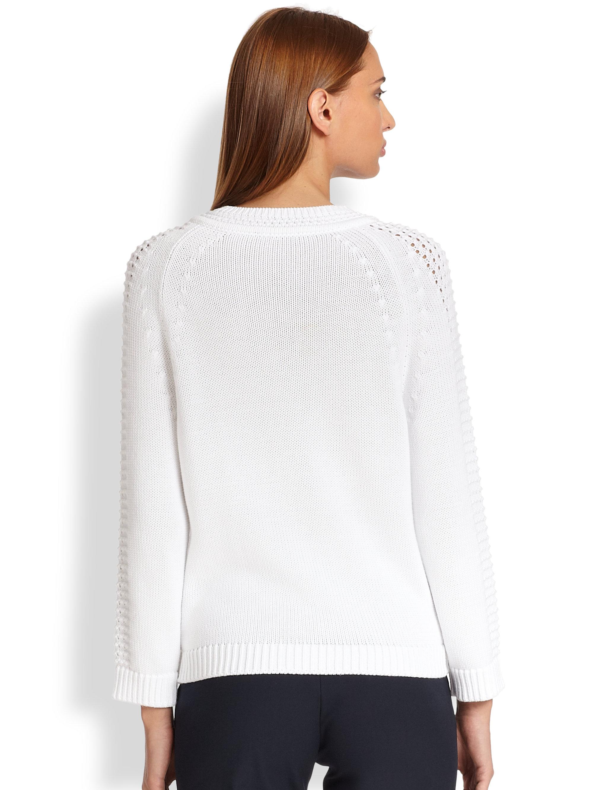Reiss Sweater - Ava Metallic Cardigan in Grey/Silver (Gray