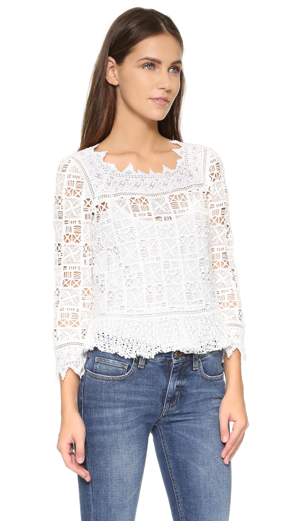 modern summer top tee free crochet pattern |Thread Crochet Top
