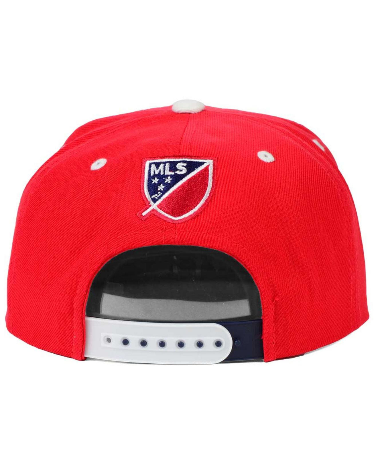 0568e1fa821 Lyst - adidas Originals Chicago Fire Academy Snapback Cap in Red for Men