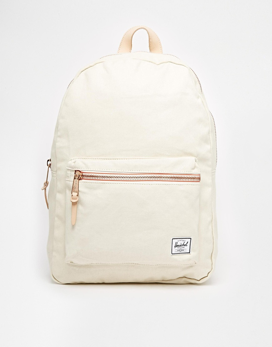 78a7bdc531d9 Lyst - Herschel Supply Co. 11L Settlement Canvas Backpack Exclusive ...