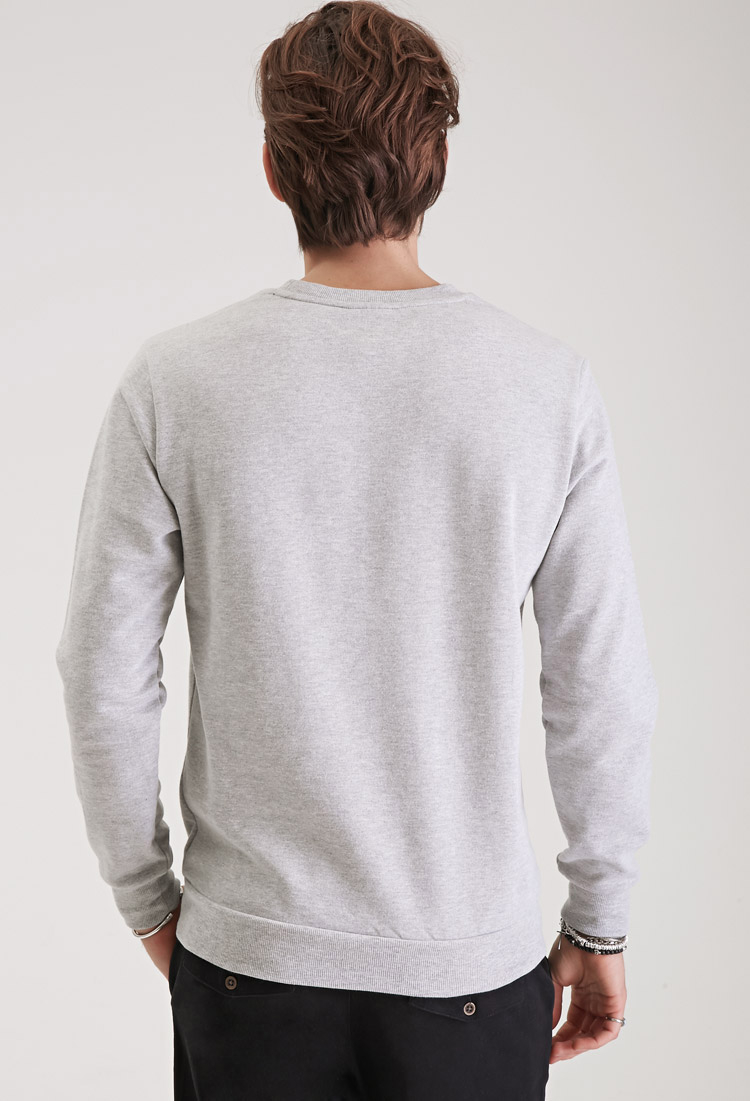895691179b2d8a Lyst - Forever 21 Bugs Bunny Sweatshirt in Gray for Men
