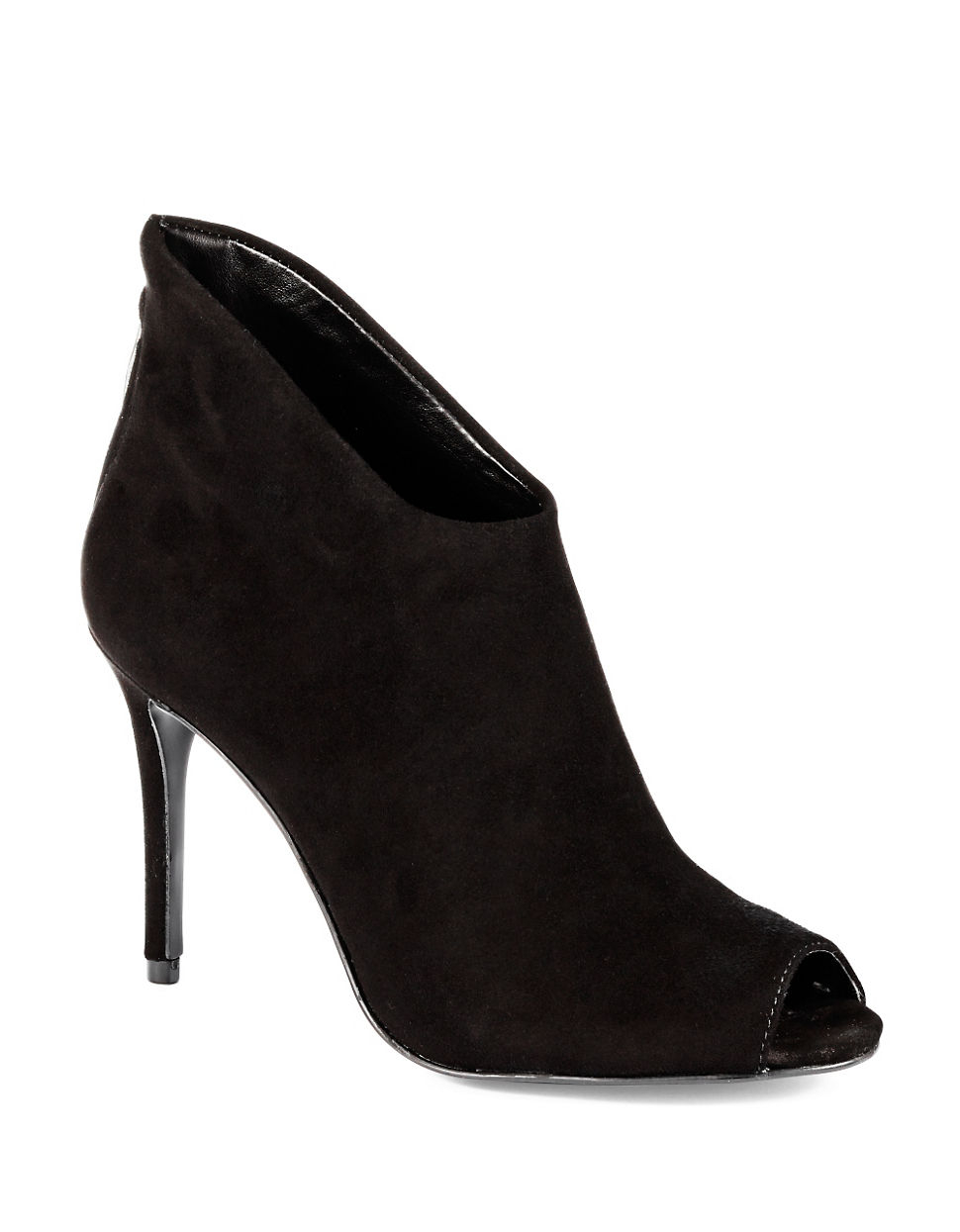 enzo angiolini lovesit suede boot in black lyst