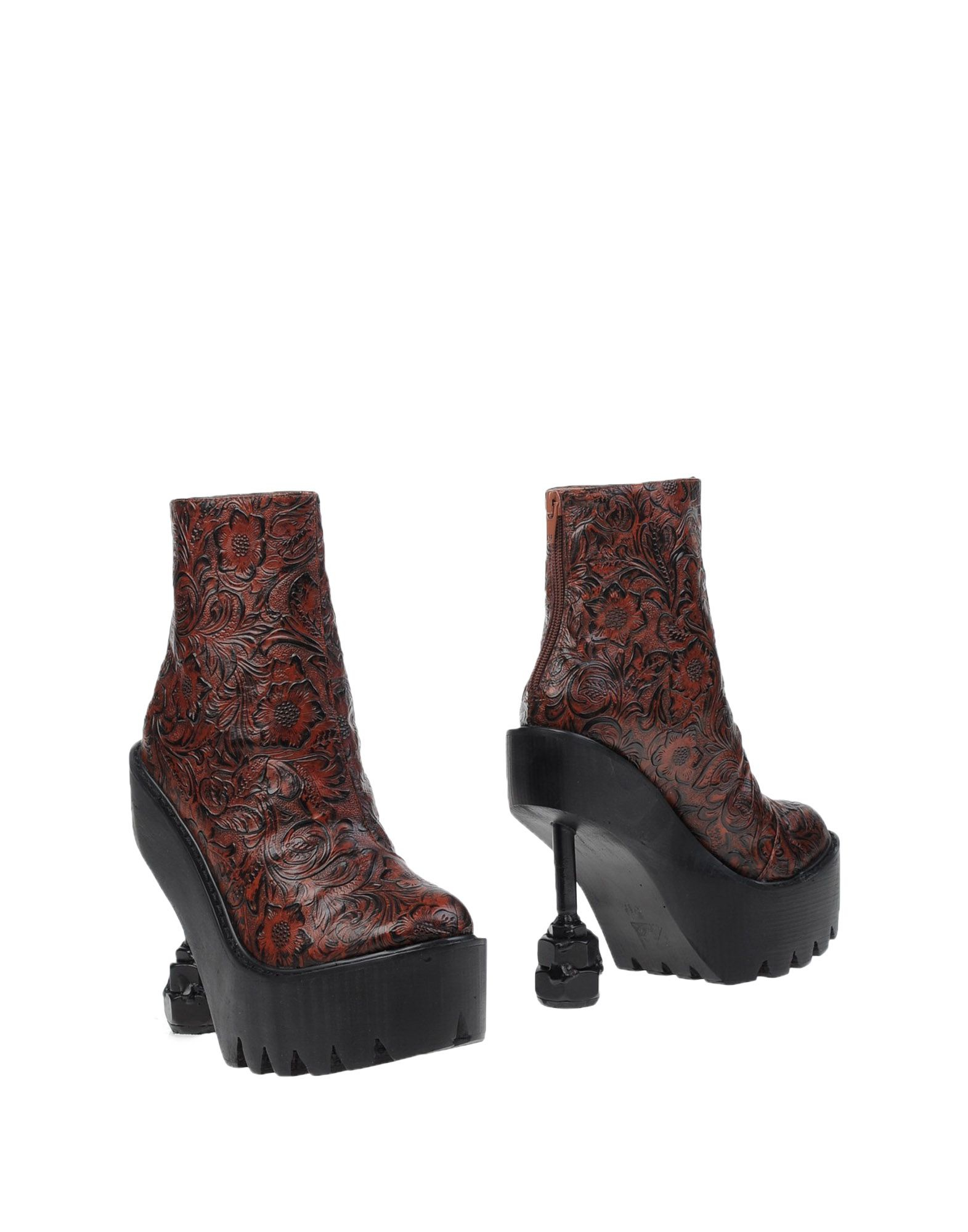 jeffrey cbell ankle boots in purple lyst