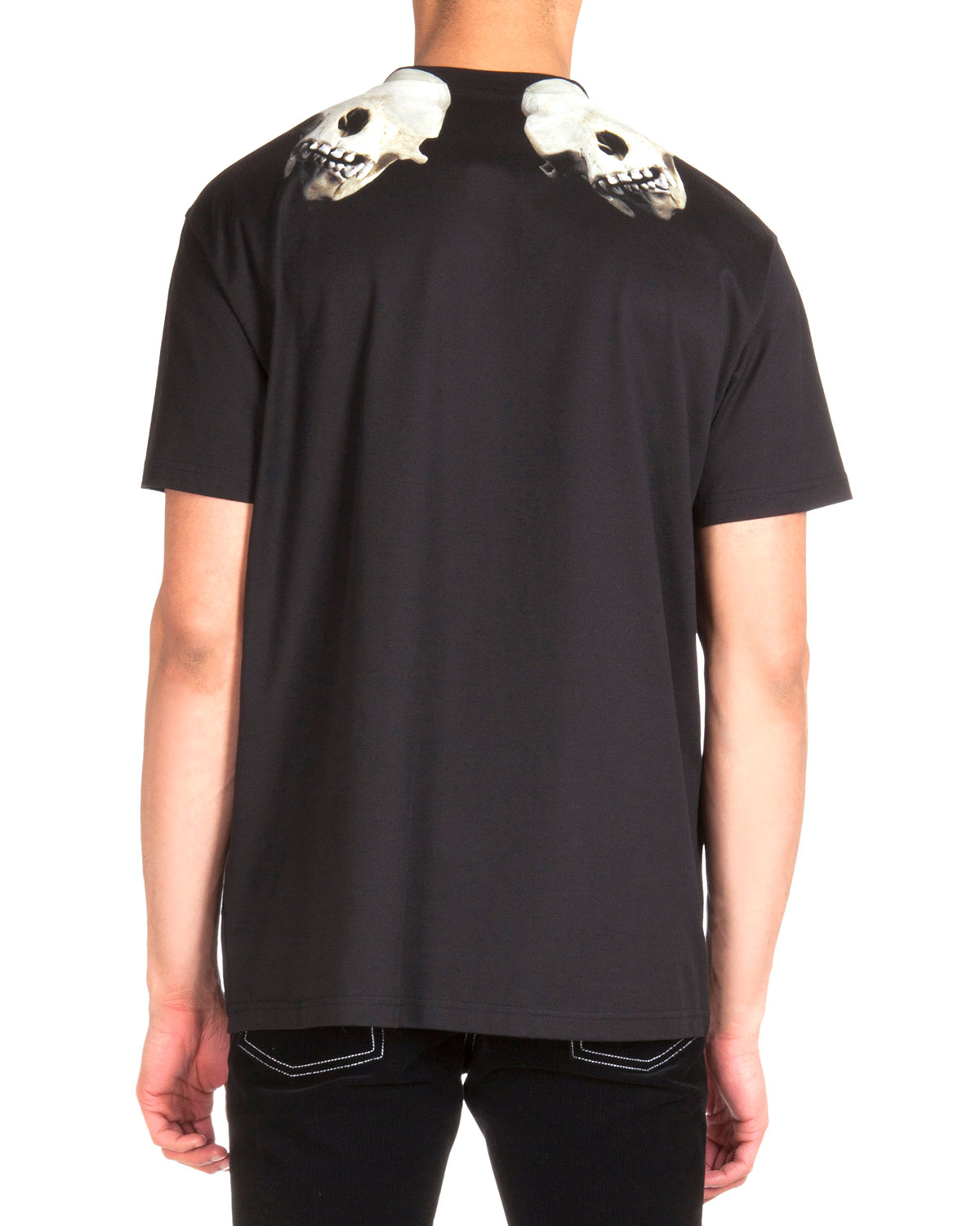 1fabf1498 Lyst - Givenchy Colombian Skull-print Jersey Tee in Black for Men
